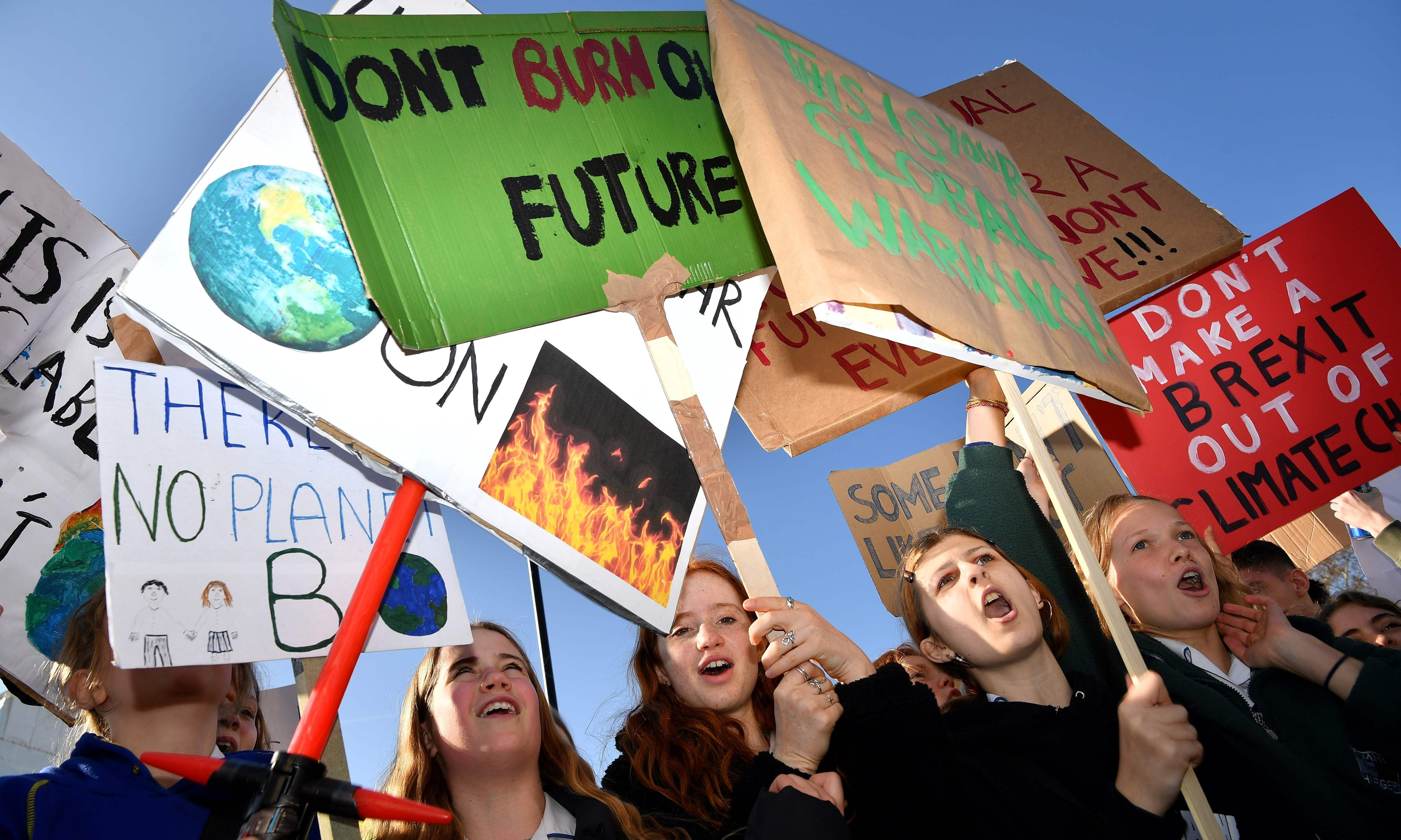 Children's climate action gives some hope for the future