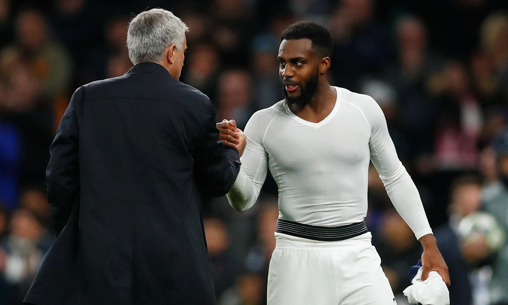 'Who said Mourinho is in control of Spurs?' Rose aims apparent dig at Levy
