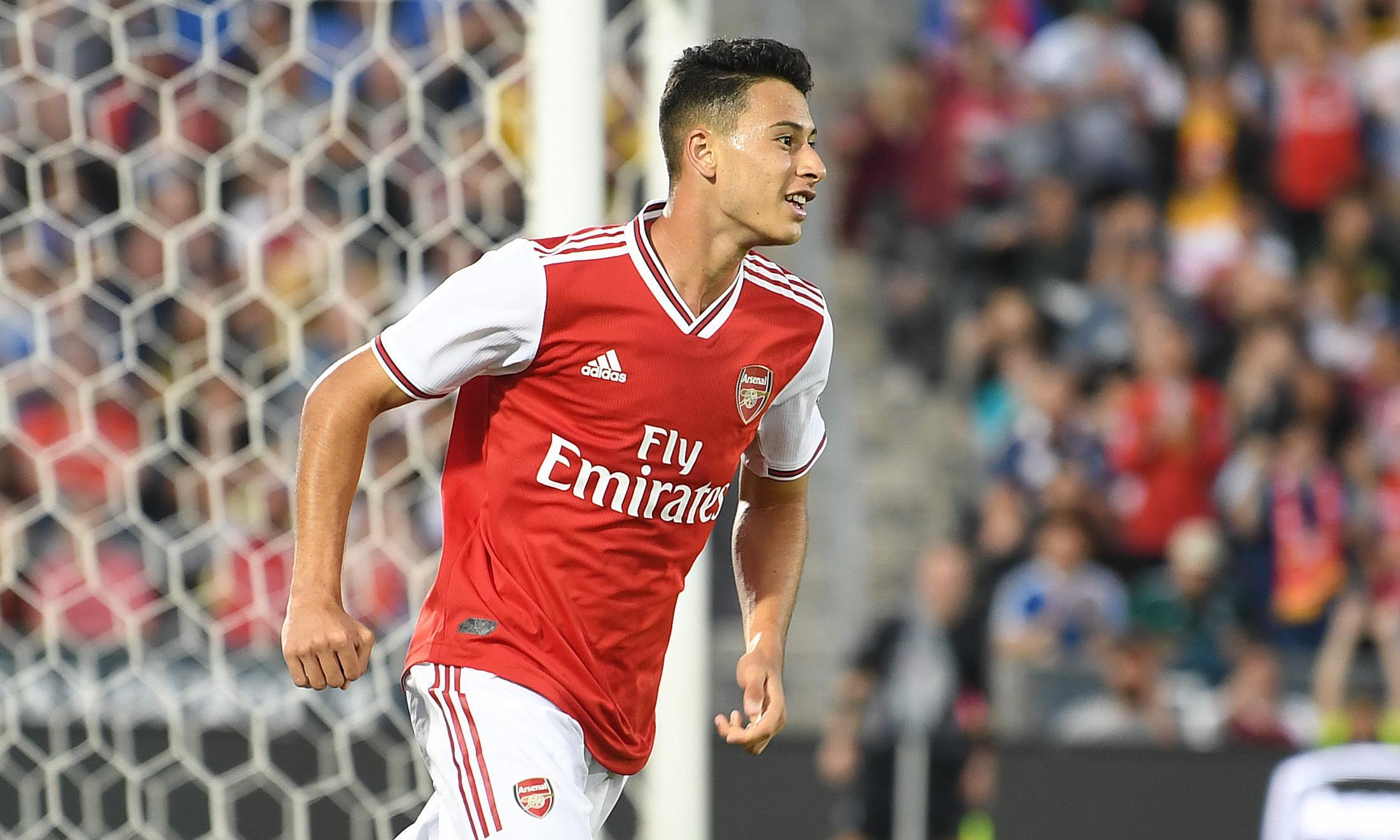 Emery says Arsenal and Koscielny 'need to speak' as Martinelli scores on debut