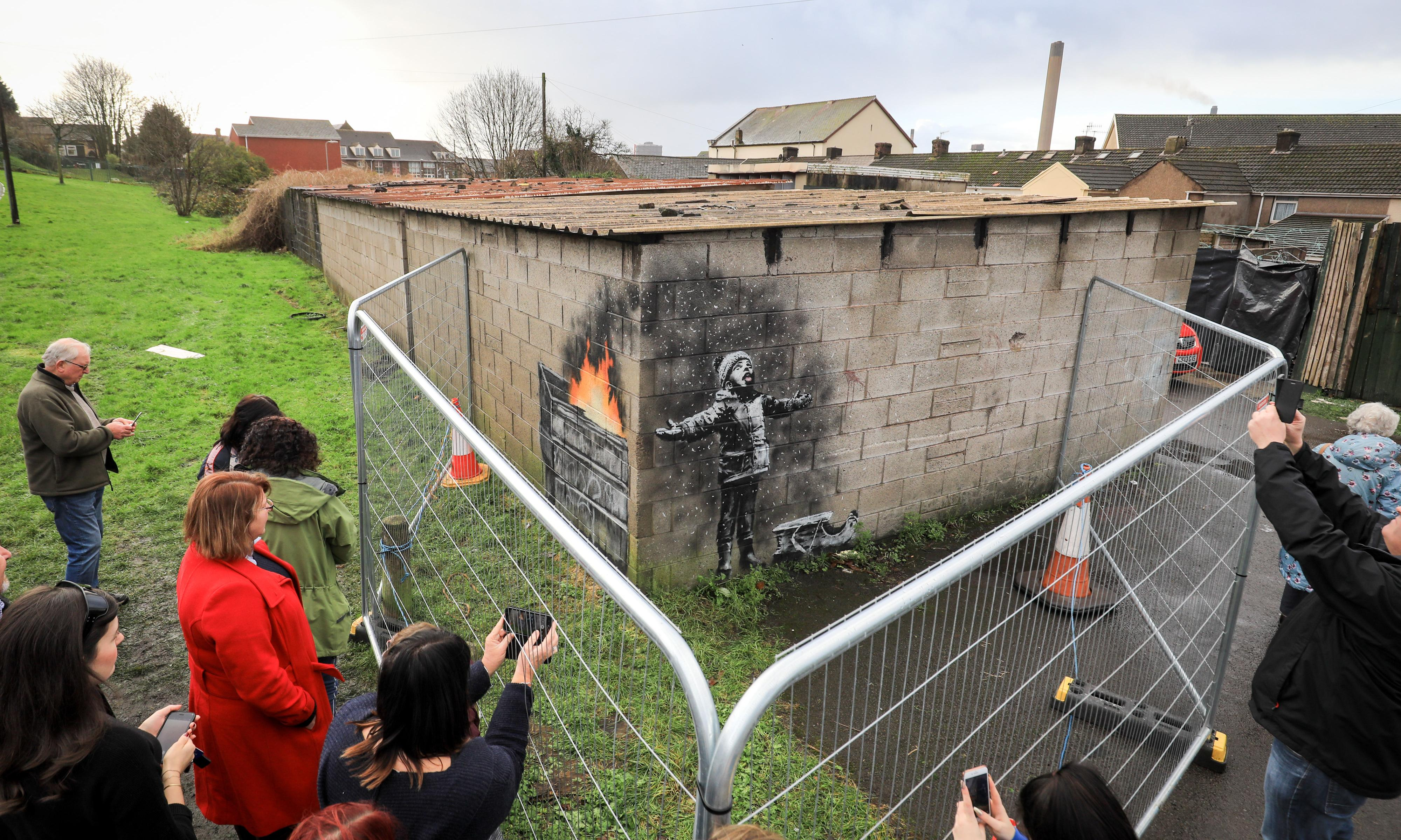 Banksy artwork likely to remain in Port Talbot