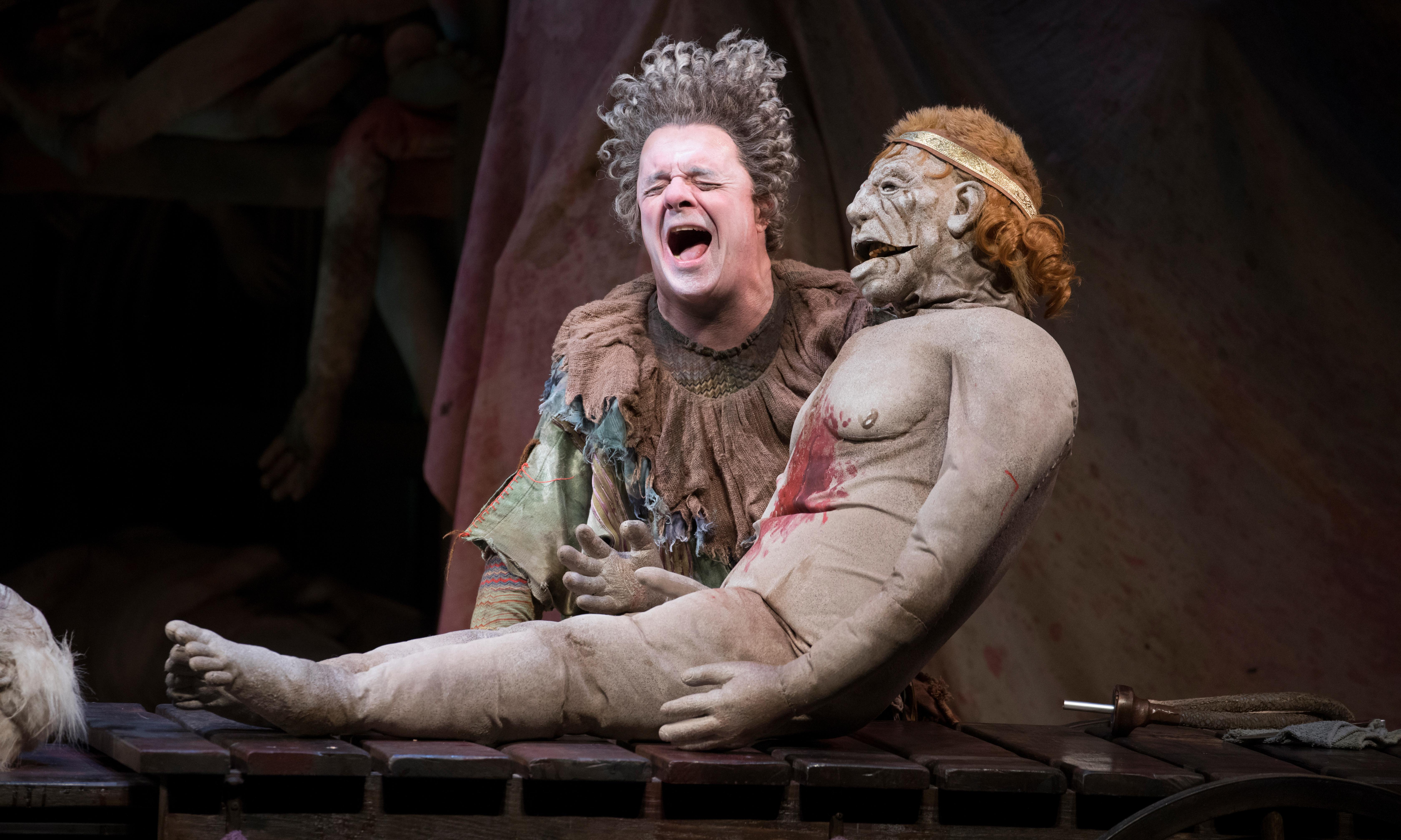 Gary review – Taylor Mac's Titus sequel is a bloody mess