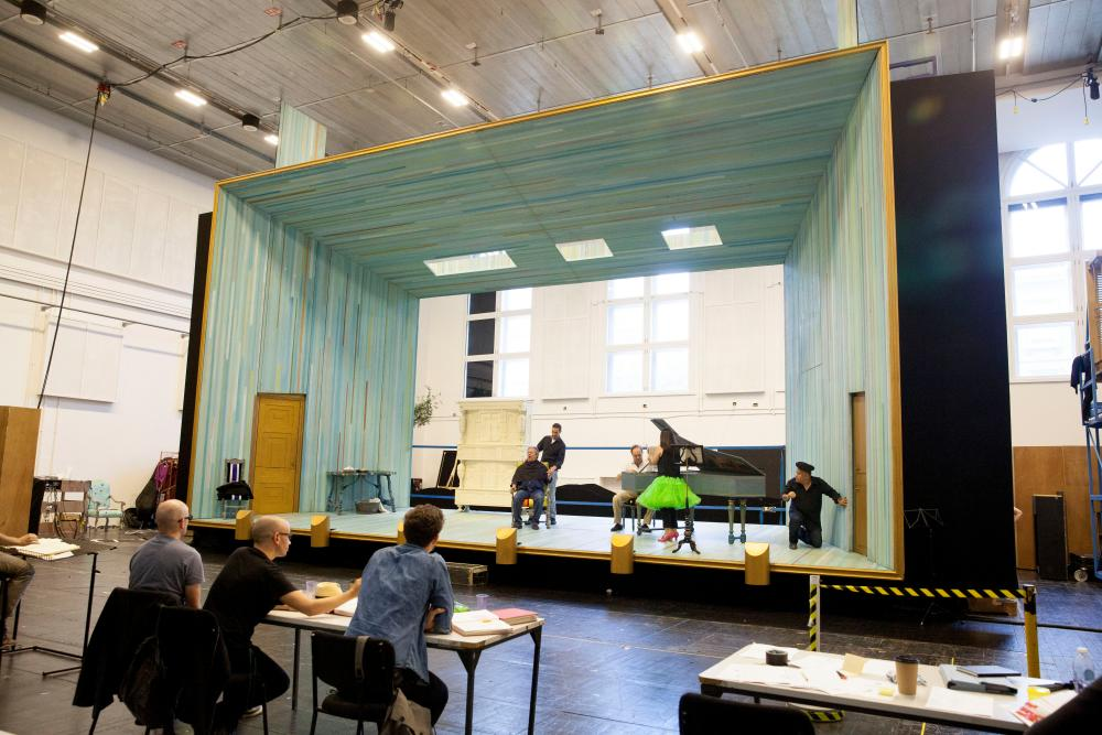 Classroom Design Essay : Backstage with the royal opera s barber of seville u photo essay