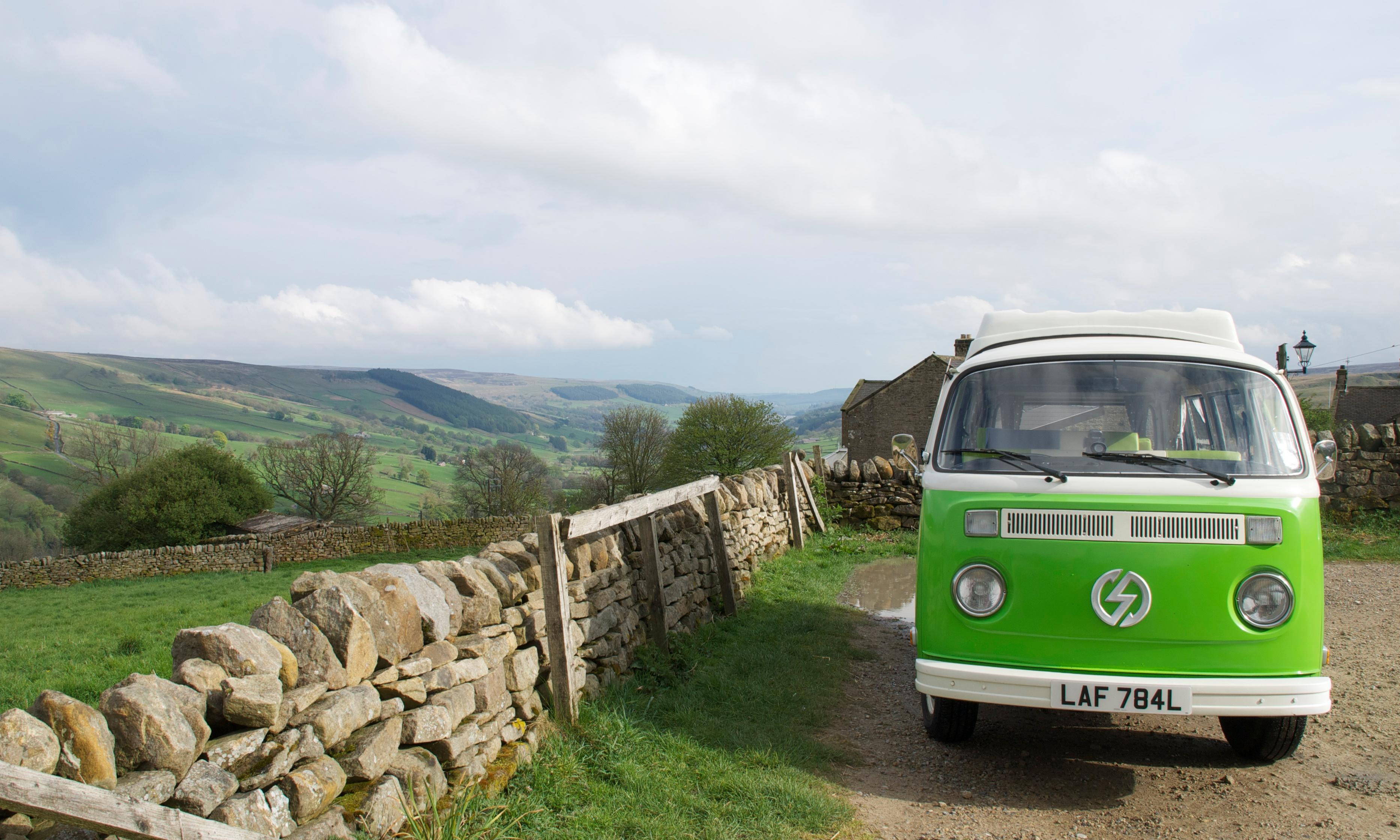 Exploring the Yorkshire Dales by electric campervan
