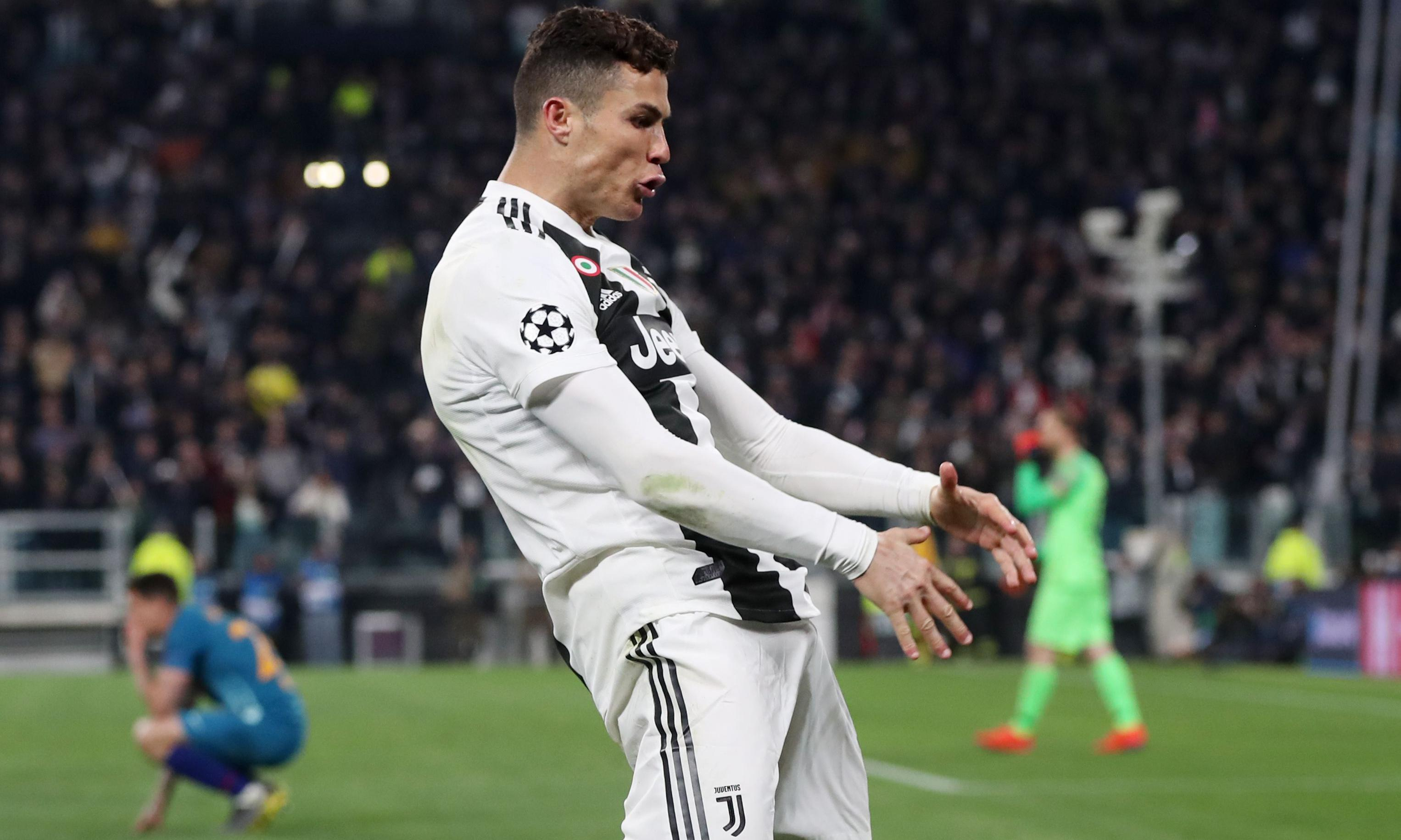 Cristiano Ronaldo charged with improper conduct for Atlético celebration