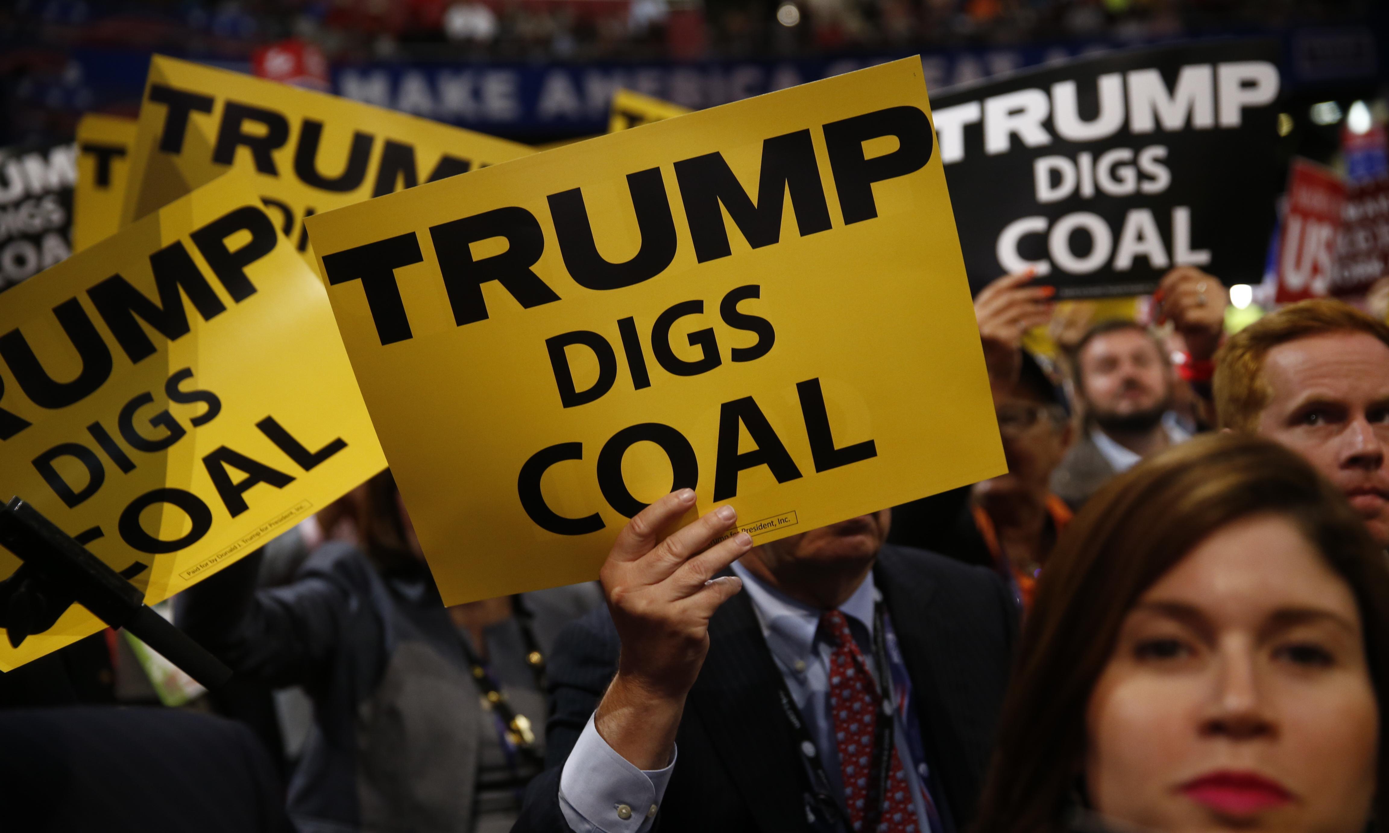 Political polarisation over climate crisis has surged under Trump