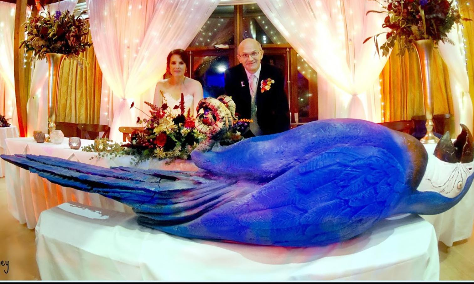 Spam, dead parrot and a giant foot: Monty Python fans' themed wedding