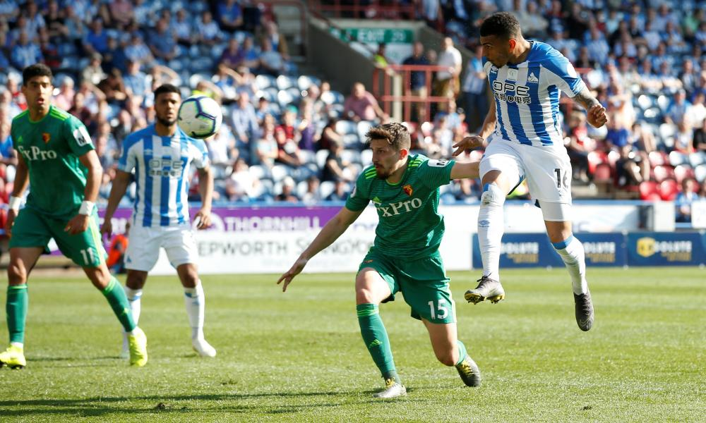 A late consolation goal for Huddersfield Town's Karlan Ahearne-Grant.