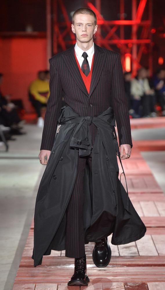 Autumn winter 2018 the key menswear trends for Mac alexander mcqueen