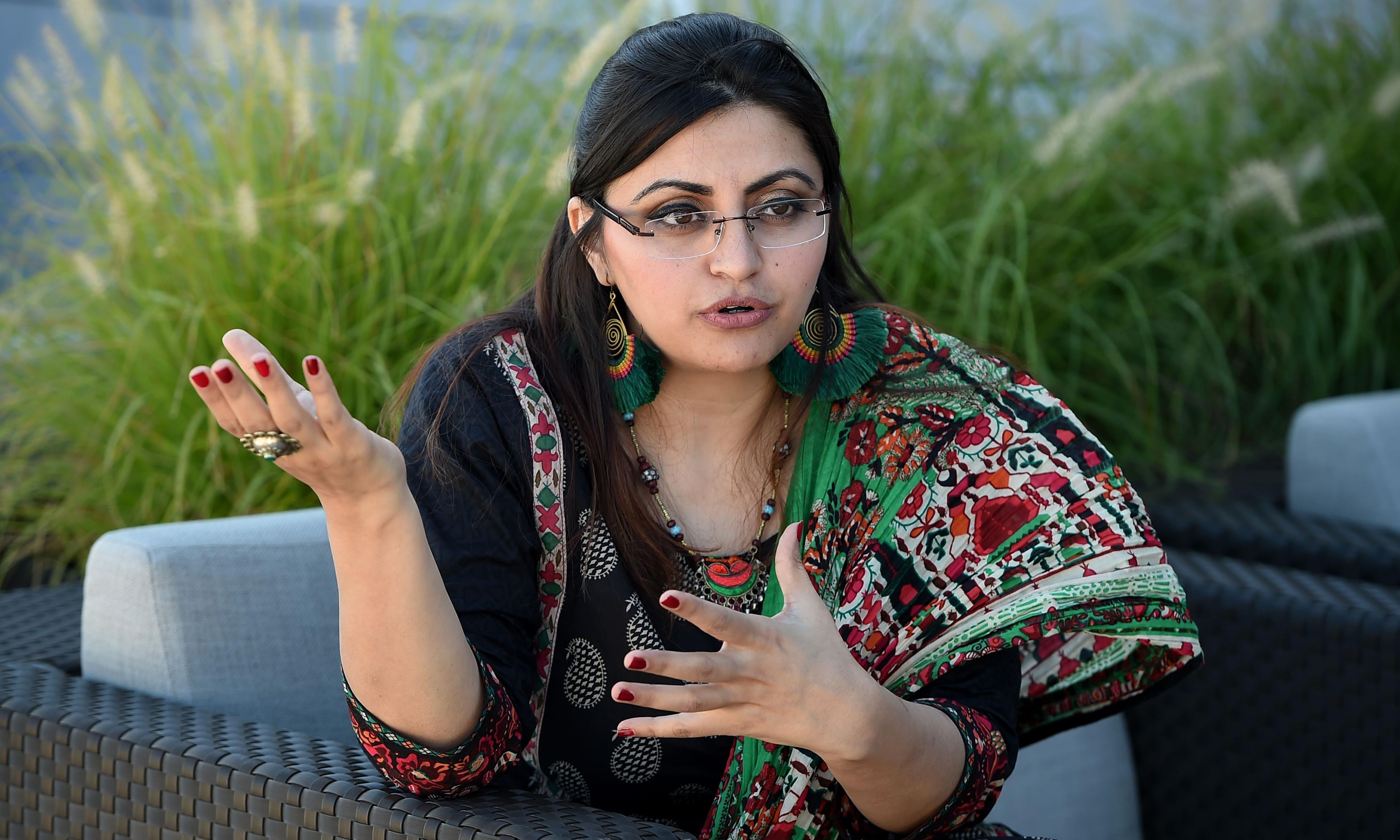 Pakistani women's rights activist flees to US