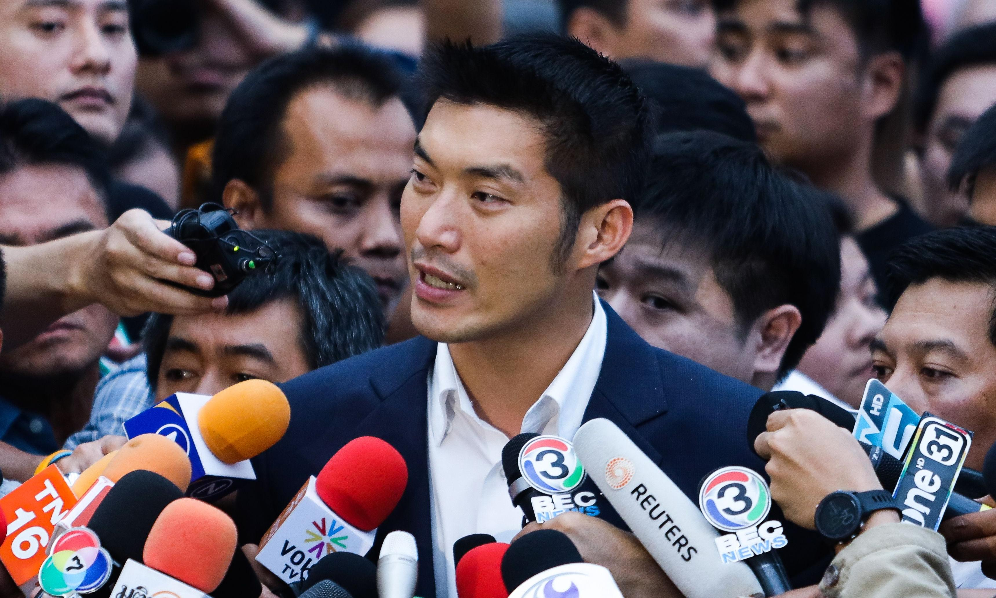 Thai opposition leader disqualified as MP over election law breach