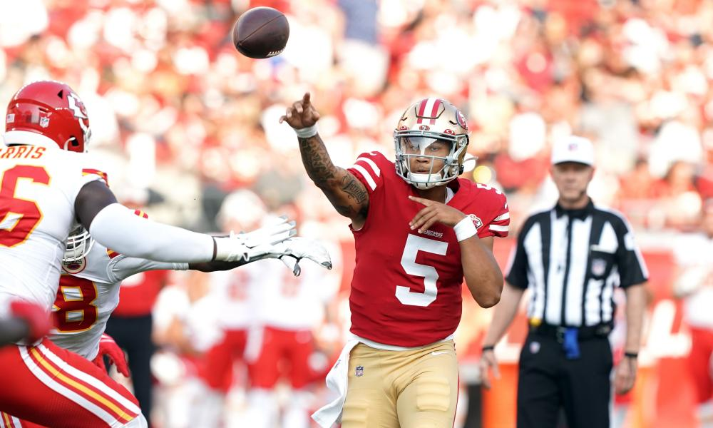 There could be exciting times ahead for Trey Lance and the 49ers