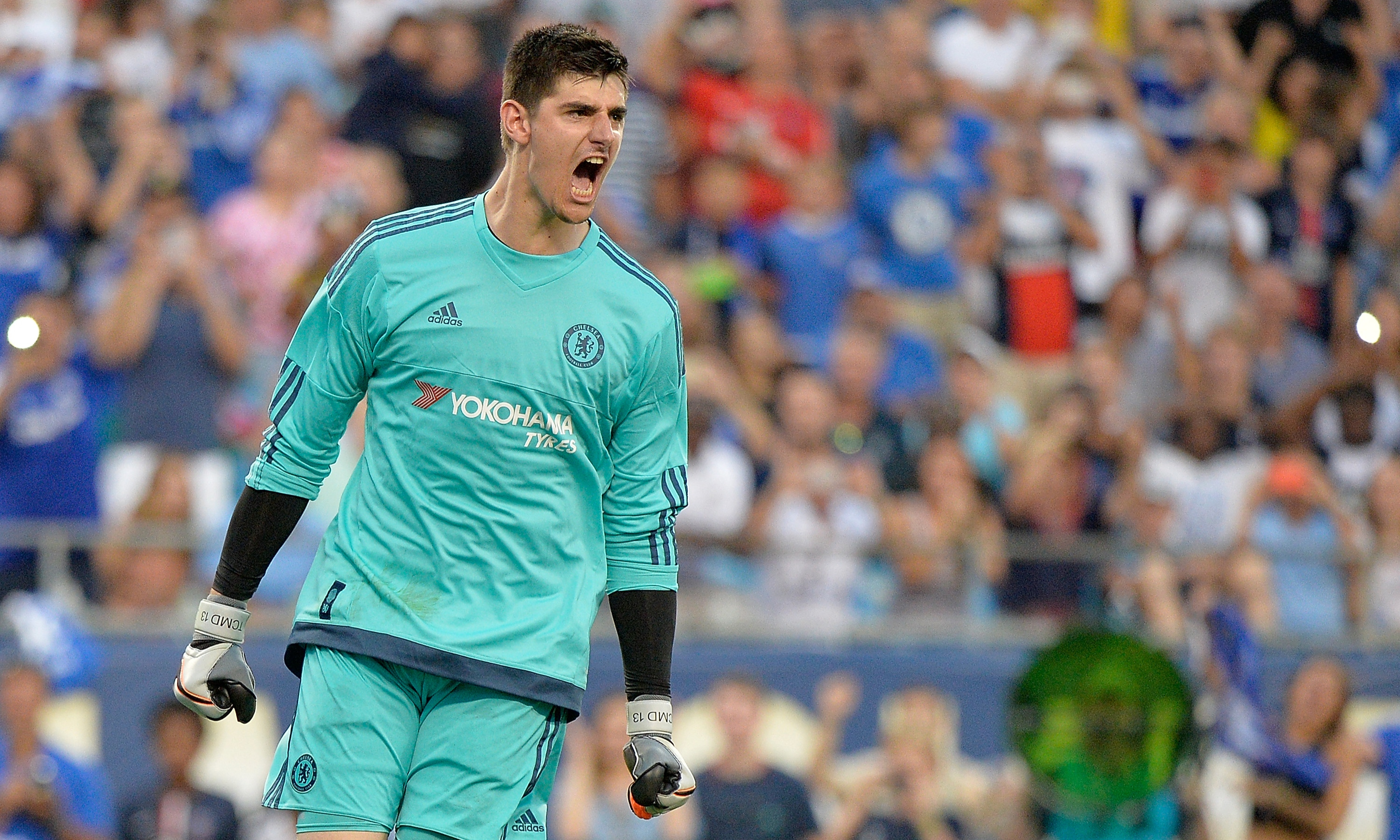 Image result for Courtois still committed to win titles with Chelsea