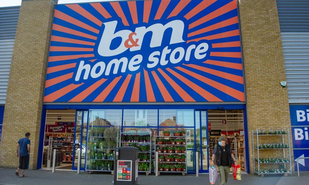 The B&M Home Store in Slough.