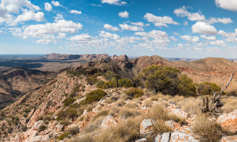 Happy isolation: hiking the ridges of the Larapinta trail