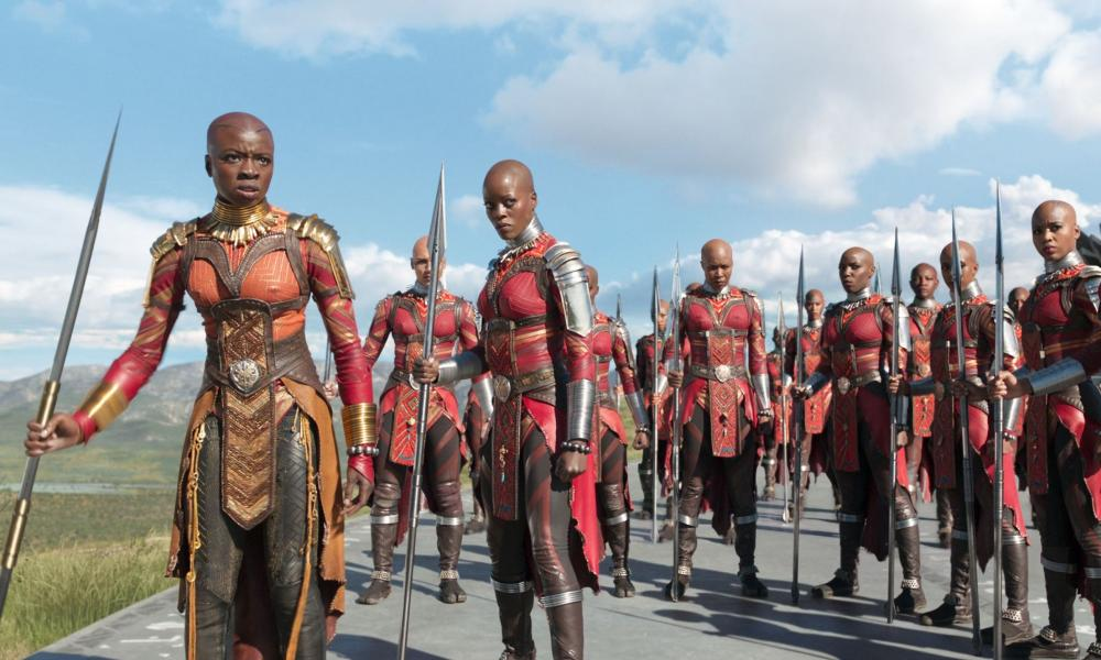 Follow the money: analysts say Black Panther has powerfully exposed the lie that 'black films don't travel'.
