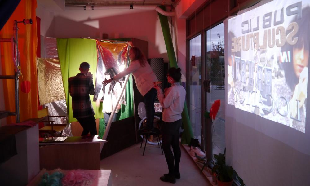 Aid & Abet's Studio/Project space in Cambridge