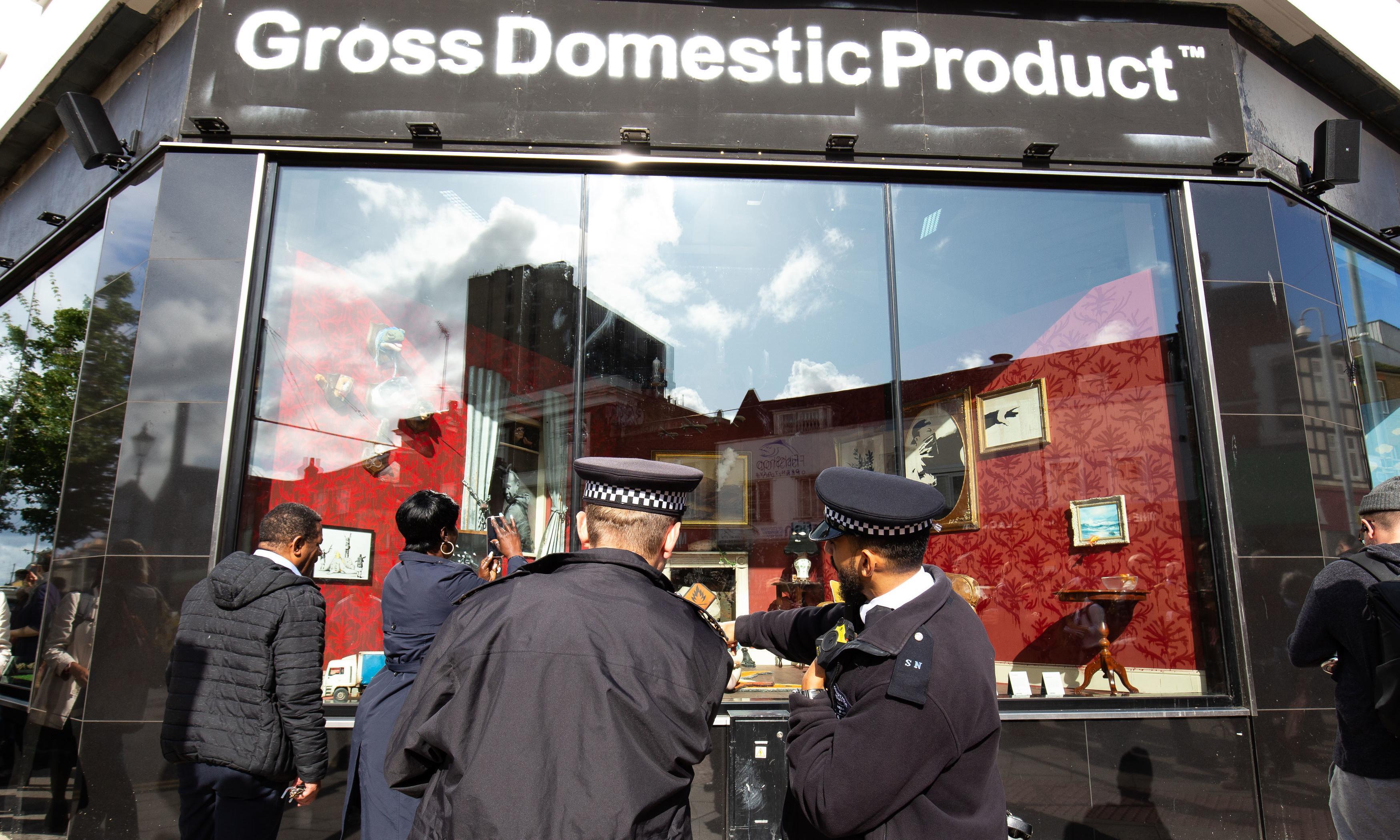Banksy launches homewares shop in dispute over trademark
