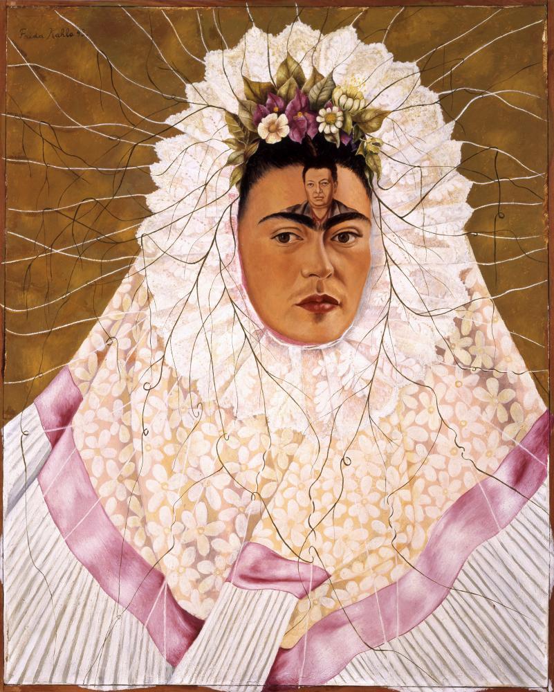 Diego On My Mind (Self-portrait as Tehuana) by Frida Kahlo, 1943