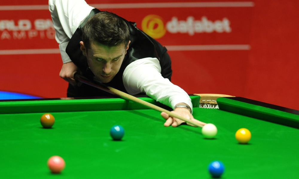 Mark Selby defends his world title at the Crucible in April.