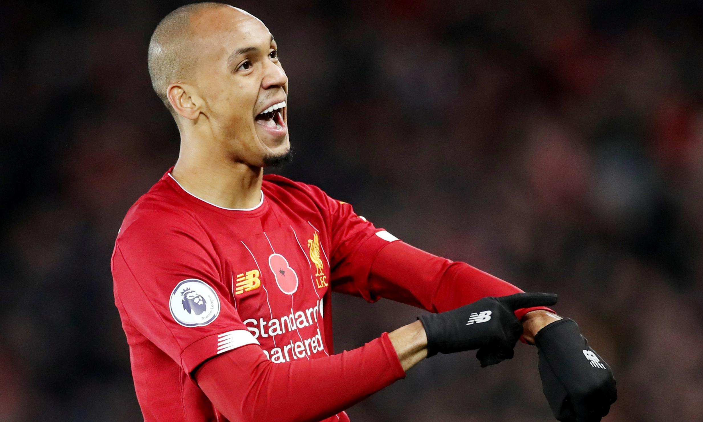 Fabinho leaves Manchester City fuming and helps Liverpool go eight points clear