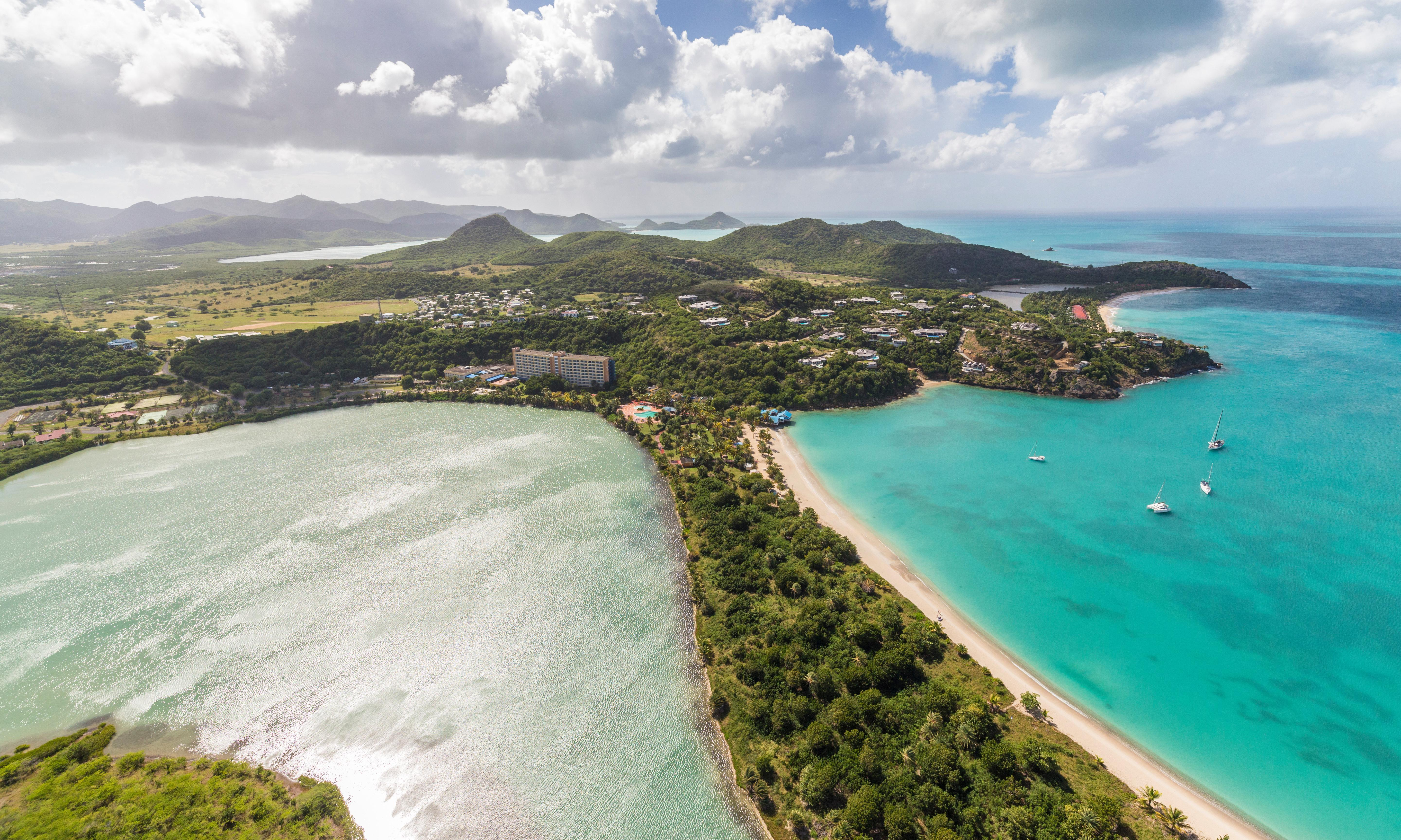 Antigua: sprawling 'Chinese colony' plan across marine reserve ignites opposition