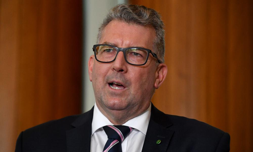 Resources minister Keith Pitt