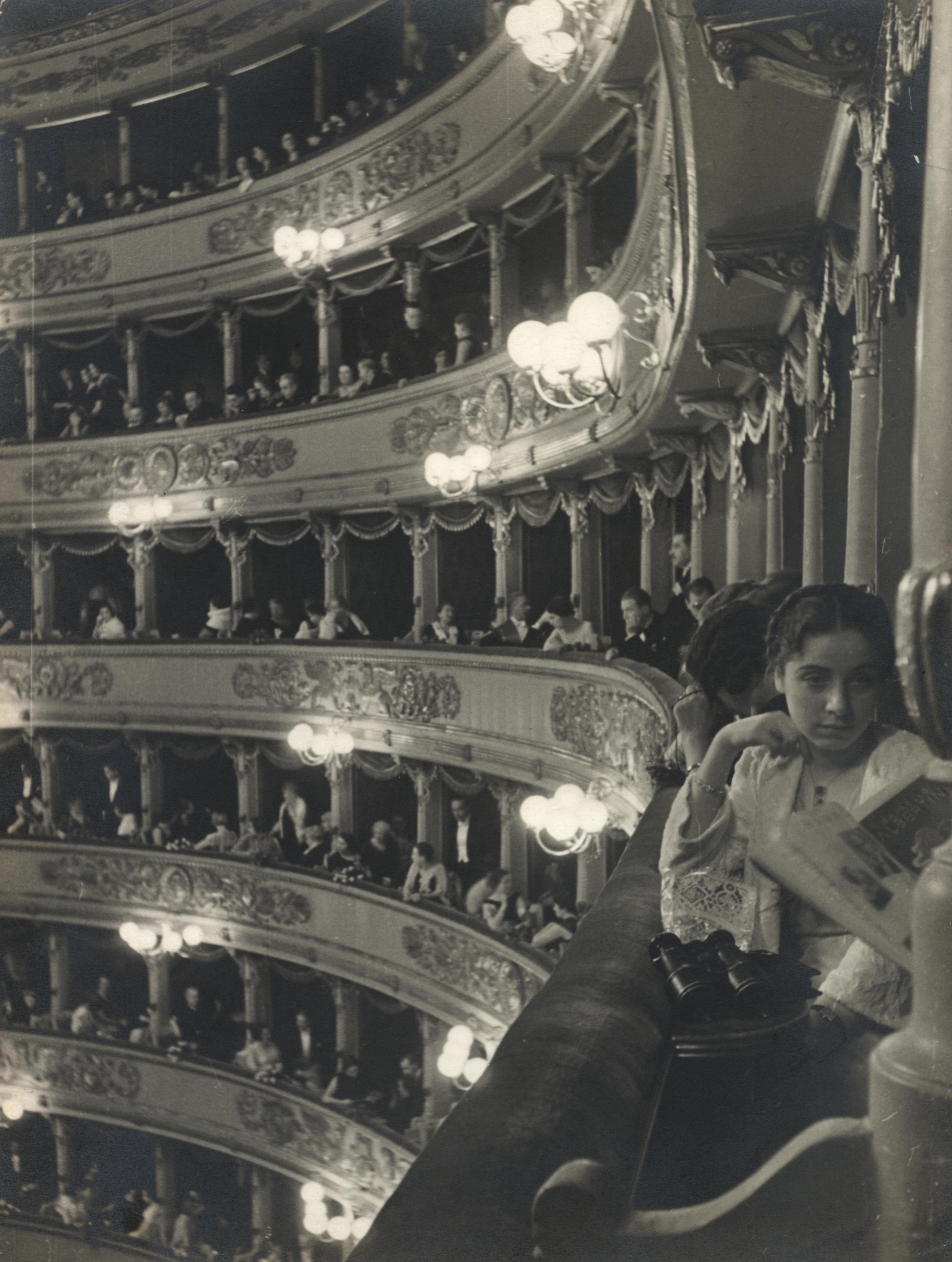 The big picture: Alfred Eisenstaedt's people-watching at the opera