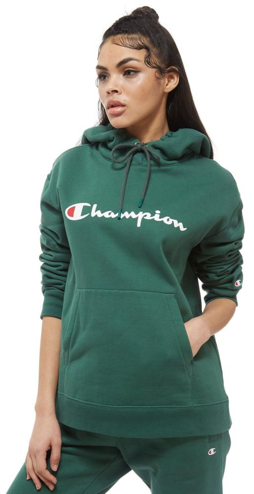Champion script logo boyfriend hoodie, £65, jdsports.co.uk