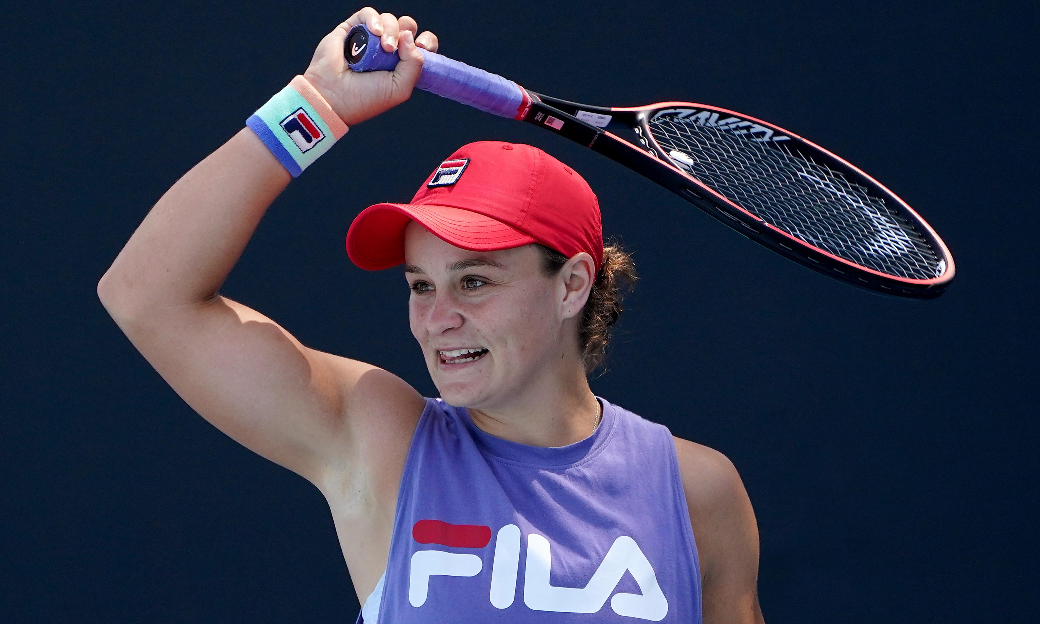 Ashleigh Barty on course for Australian Open summit with Simona Halep