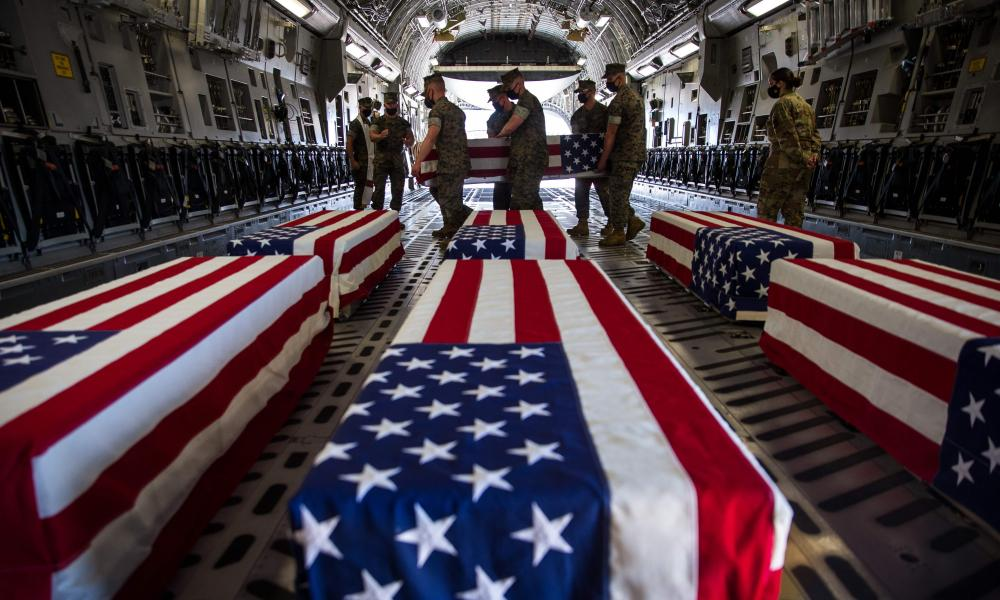The bodies of the drowned service members were recovered near San Clemente Island.