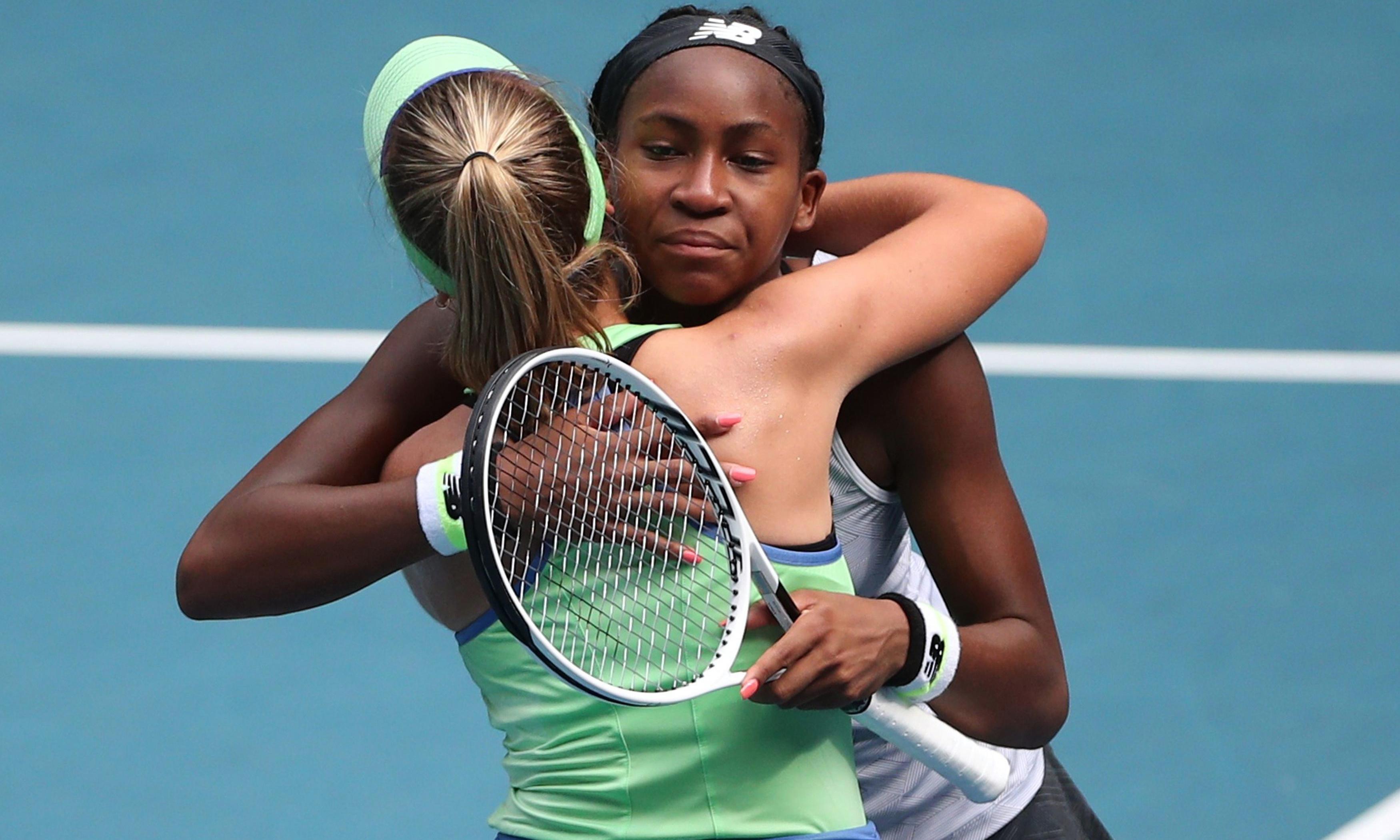 Coco Gauff's fairytale run at Australian Open ended by Sofia Kenin