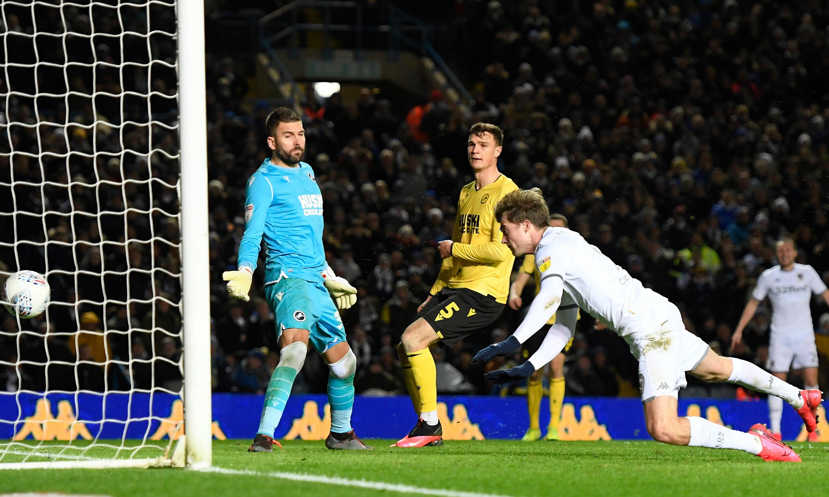 Championship: Bamford's double fires Leeds top after West Brom lose again