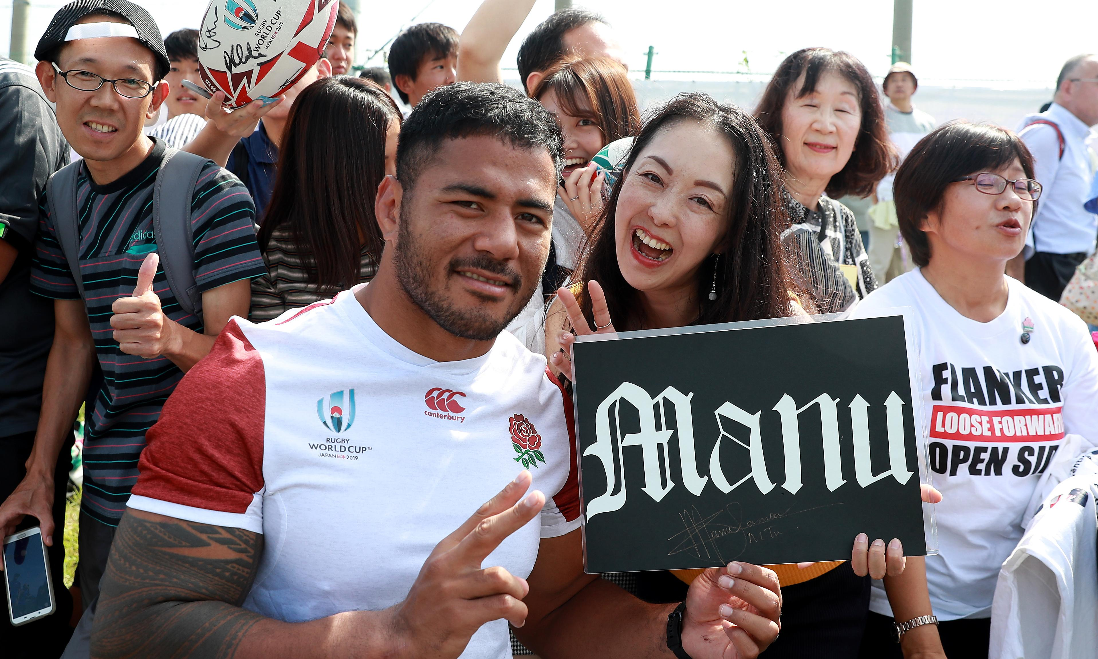 Manu Tuilagi uses new mindset to savour England's World Cup moments