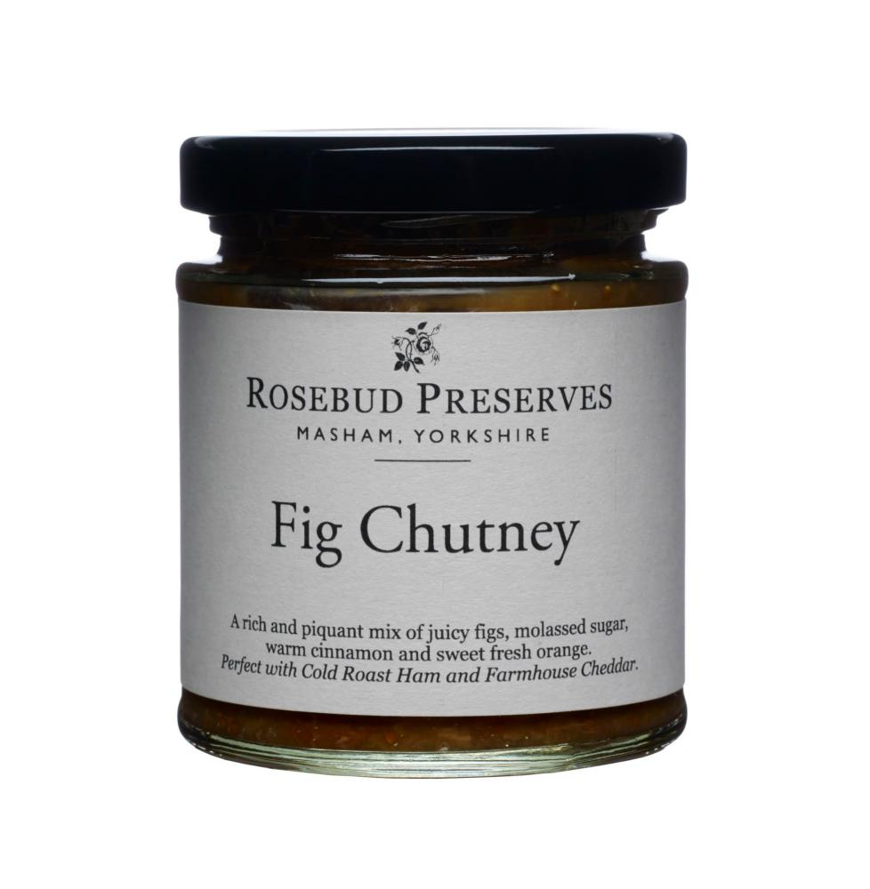 Rosebud fig chutney