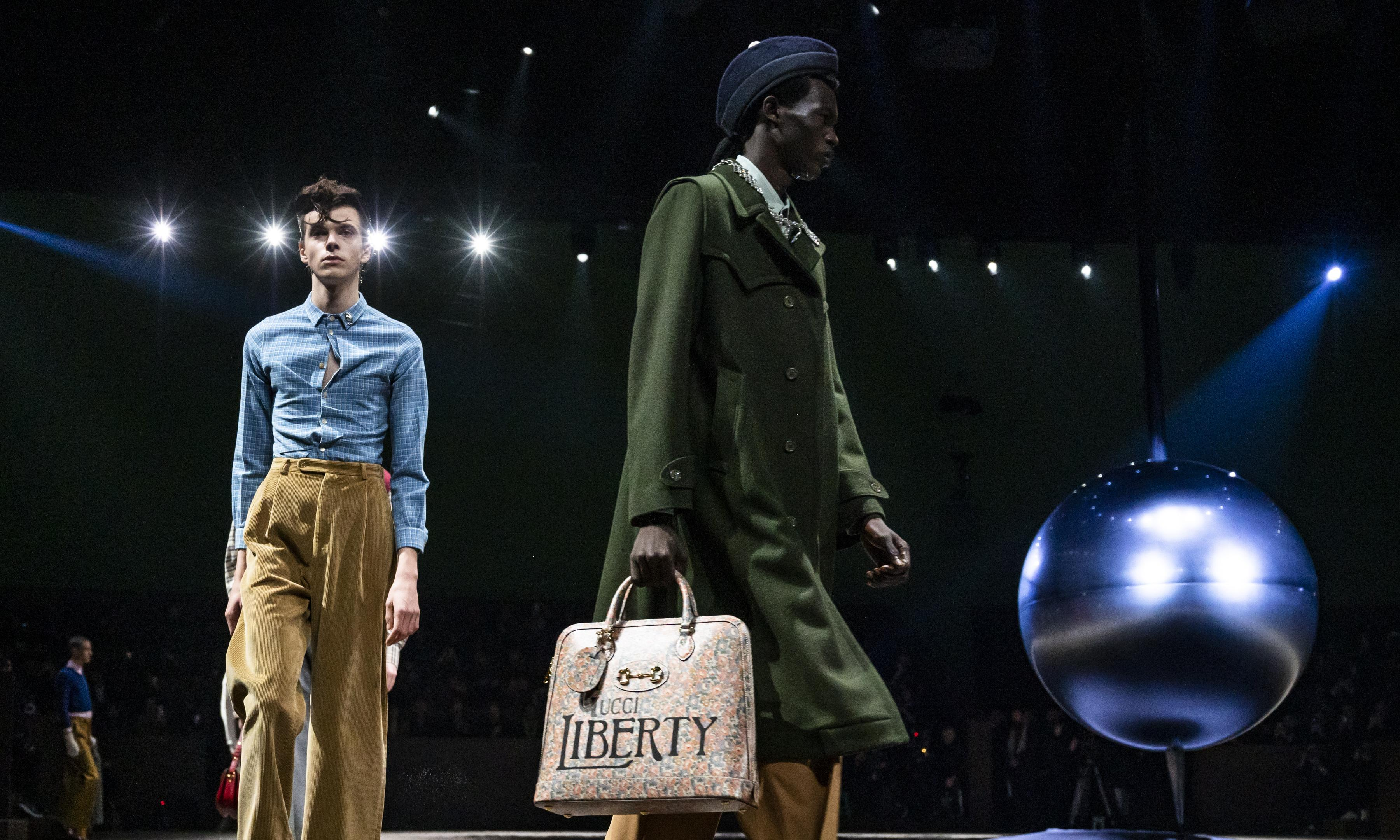 Gucci channels the inner child at Milan men's fashion week