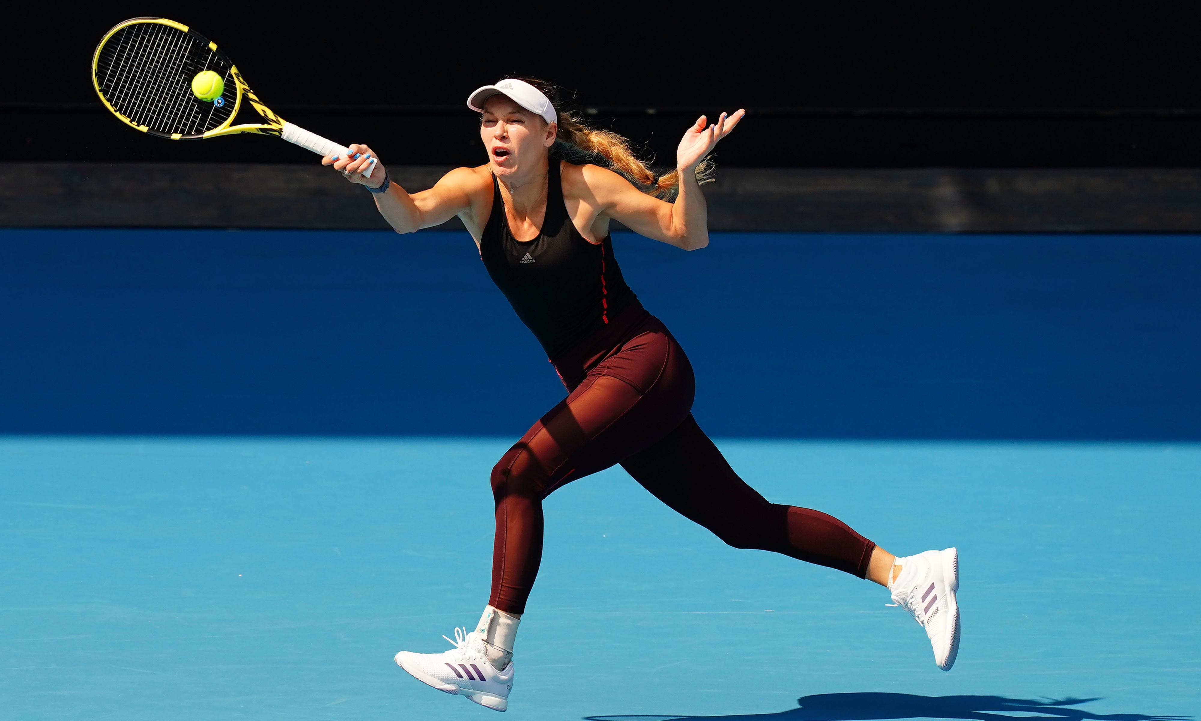 'It'll be emotional': Caroline Wozniacki braced for farewell at Australian Open