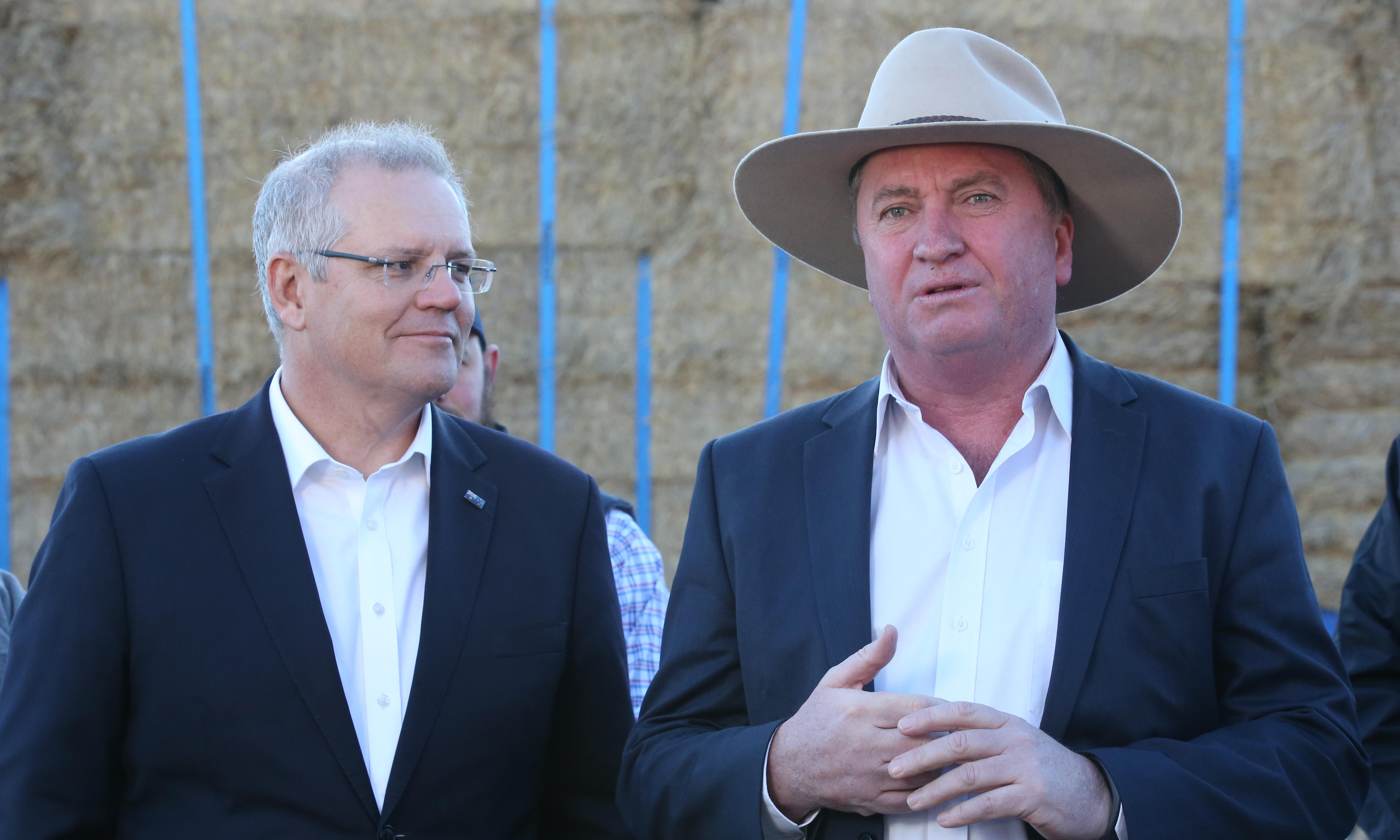 Labor lashes drought envoy Barnaby Joyce for failing to produce report