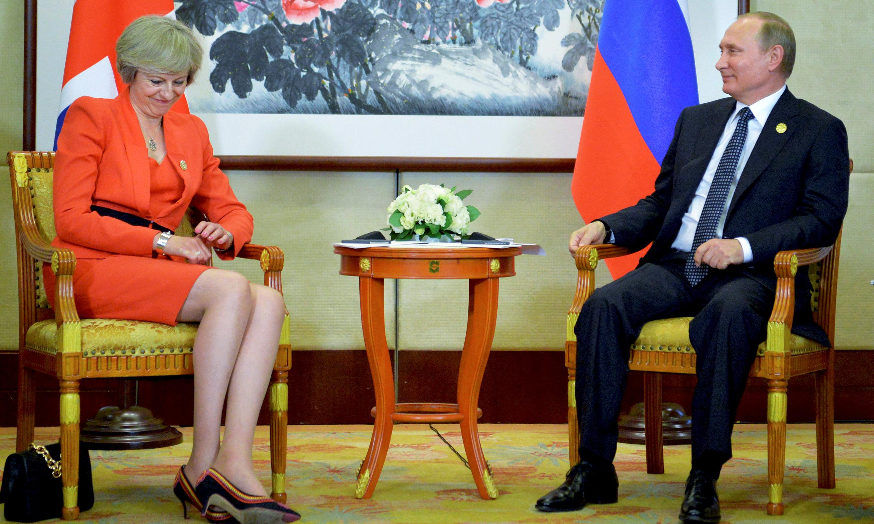 UK and Russia consider May-Putin meeting to thaw relations