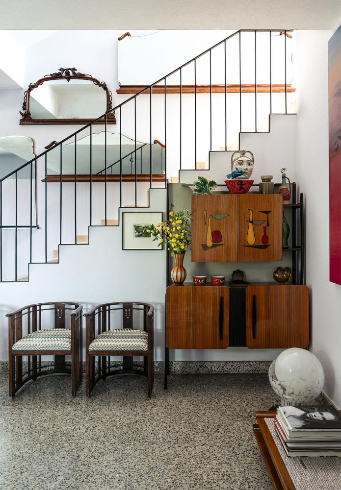 Margherita Missoni's hallway