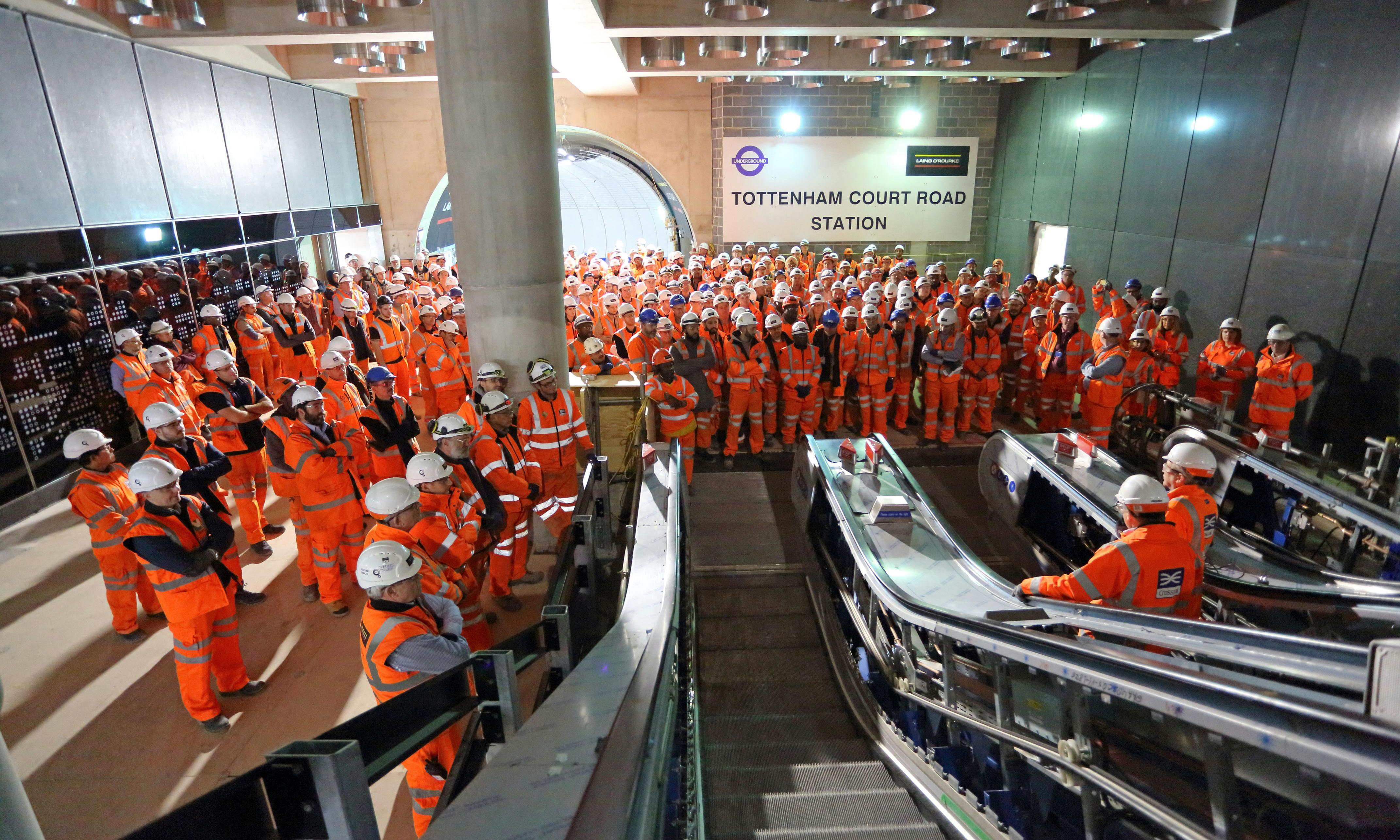 The Fifteen Billion Pound Railway review – digging into the Crossrail catastrophe