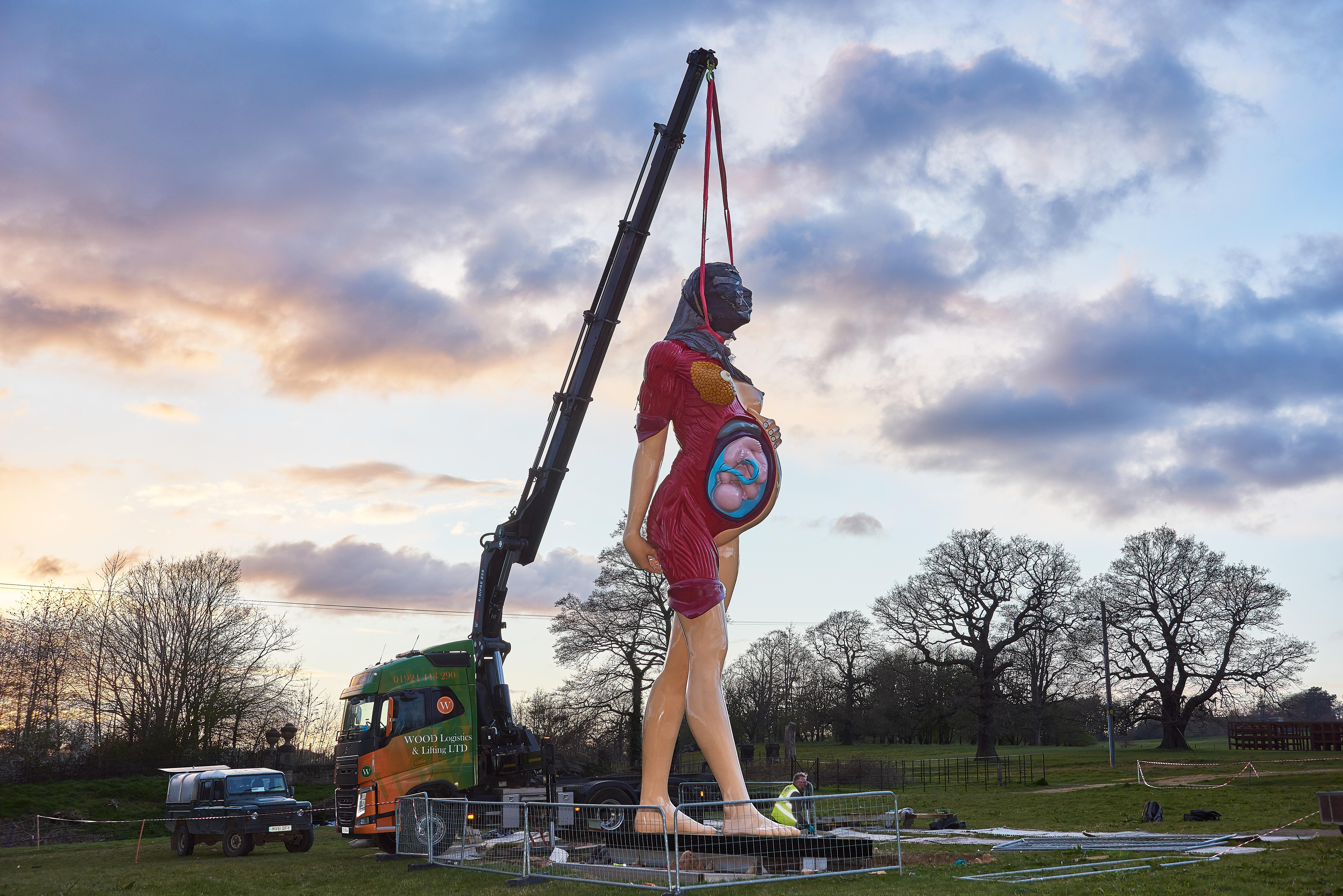 Damien Hirst homecoming announced for Yorkshire sculpture festival