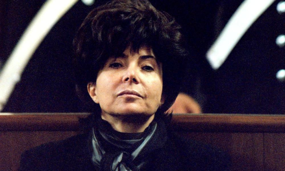 Reggiani in court in 1998, her face impassive