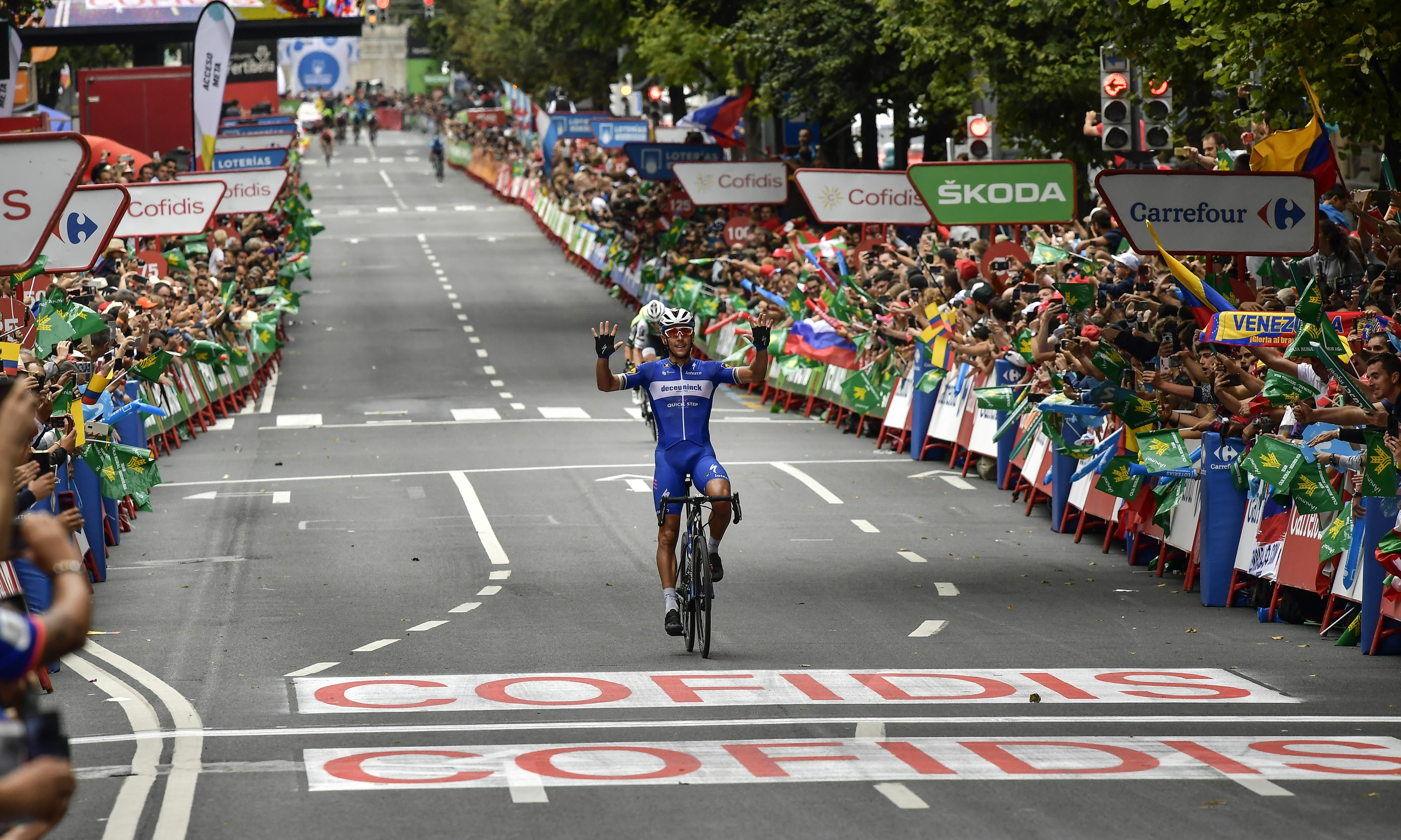 Vuelta a España: Philippe Gilbert's Bilbao brilliance earns stage 12 win