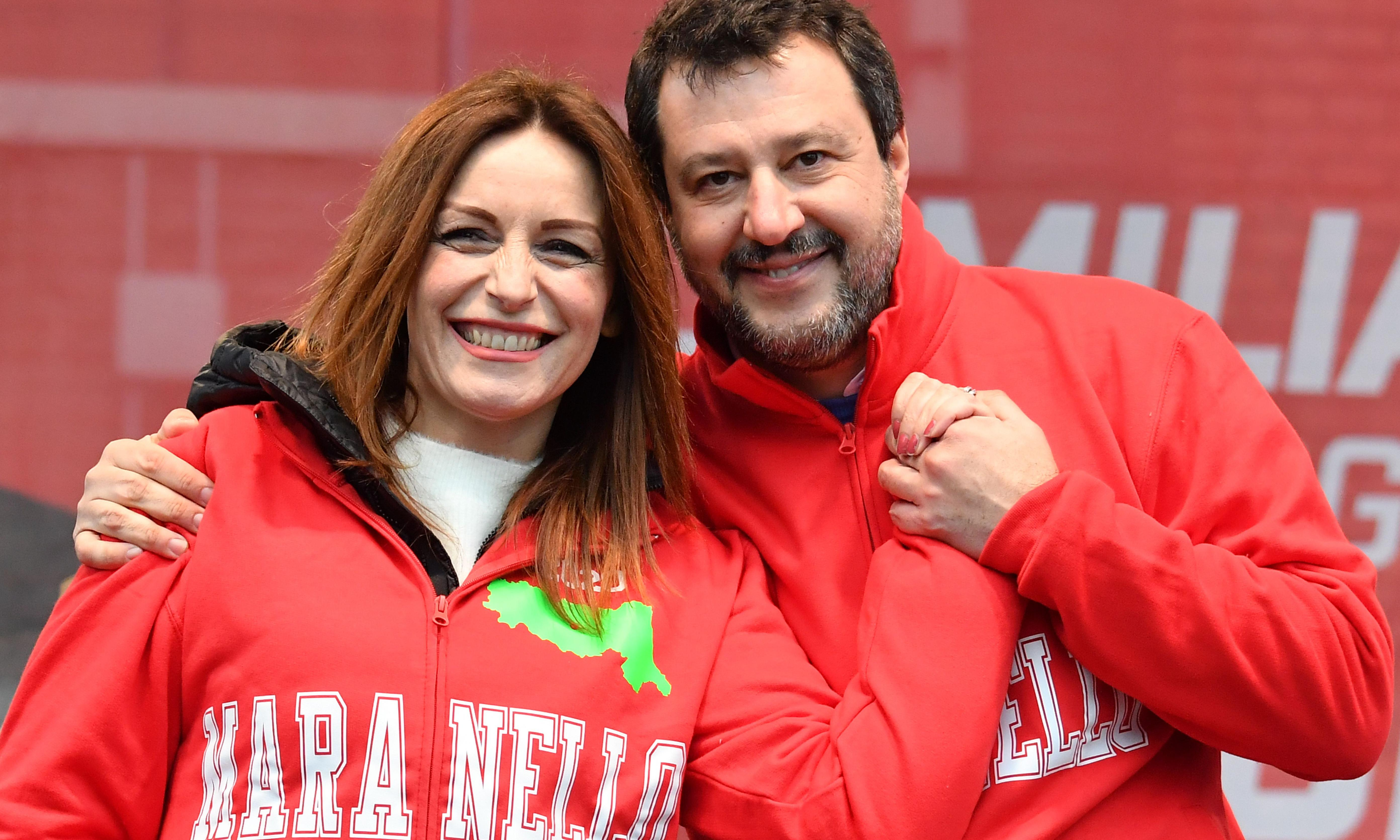 Salvini's League pulls out all the stops to win Italy's rich leftwing stronghold