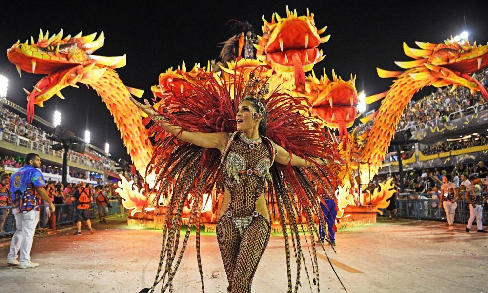 The Sambadrome Marques de Sapucai in Rio in 2020 ...