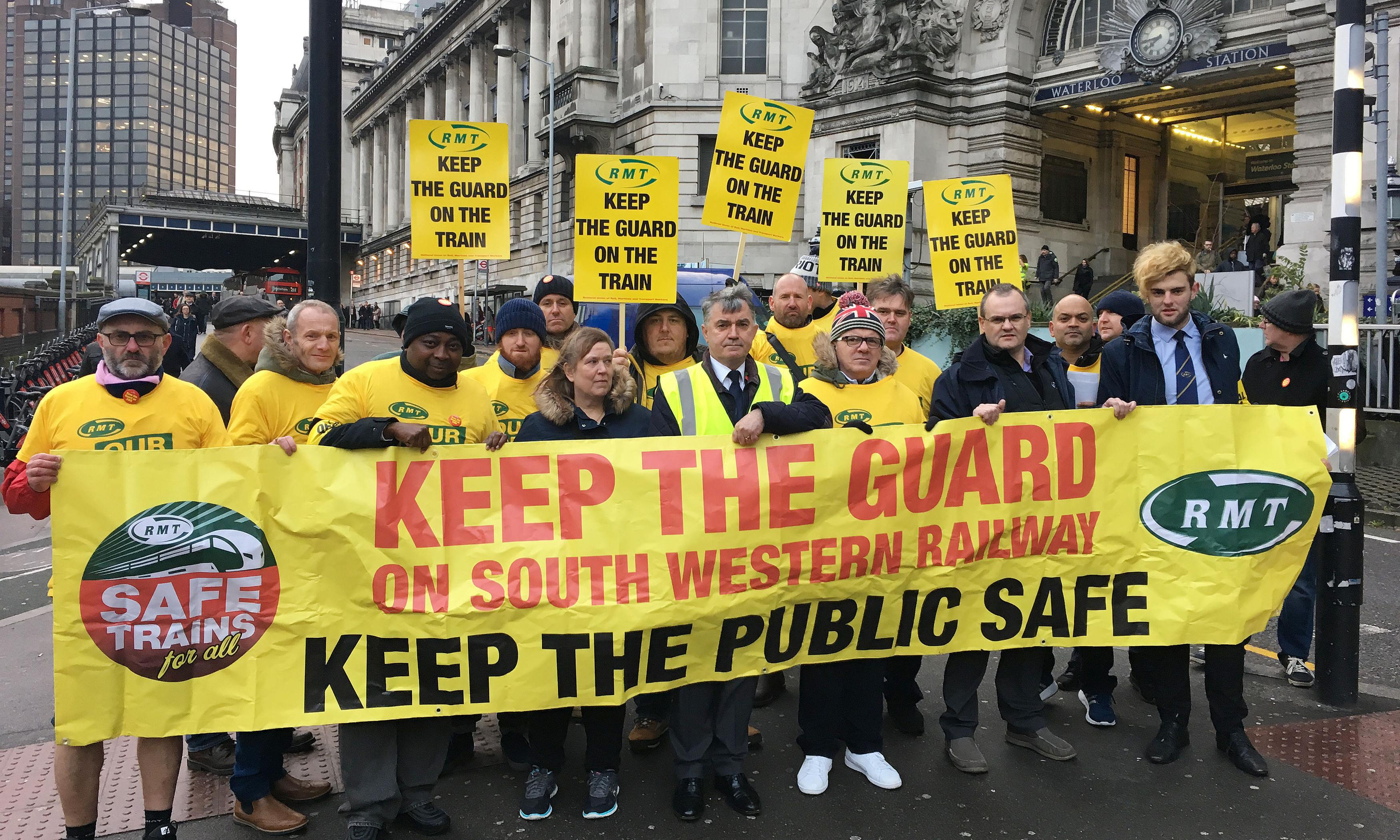 Rail strike is poor timing for Labour