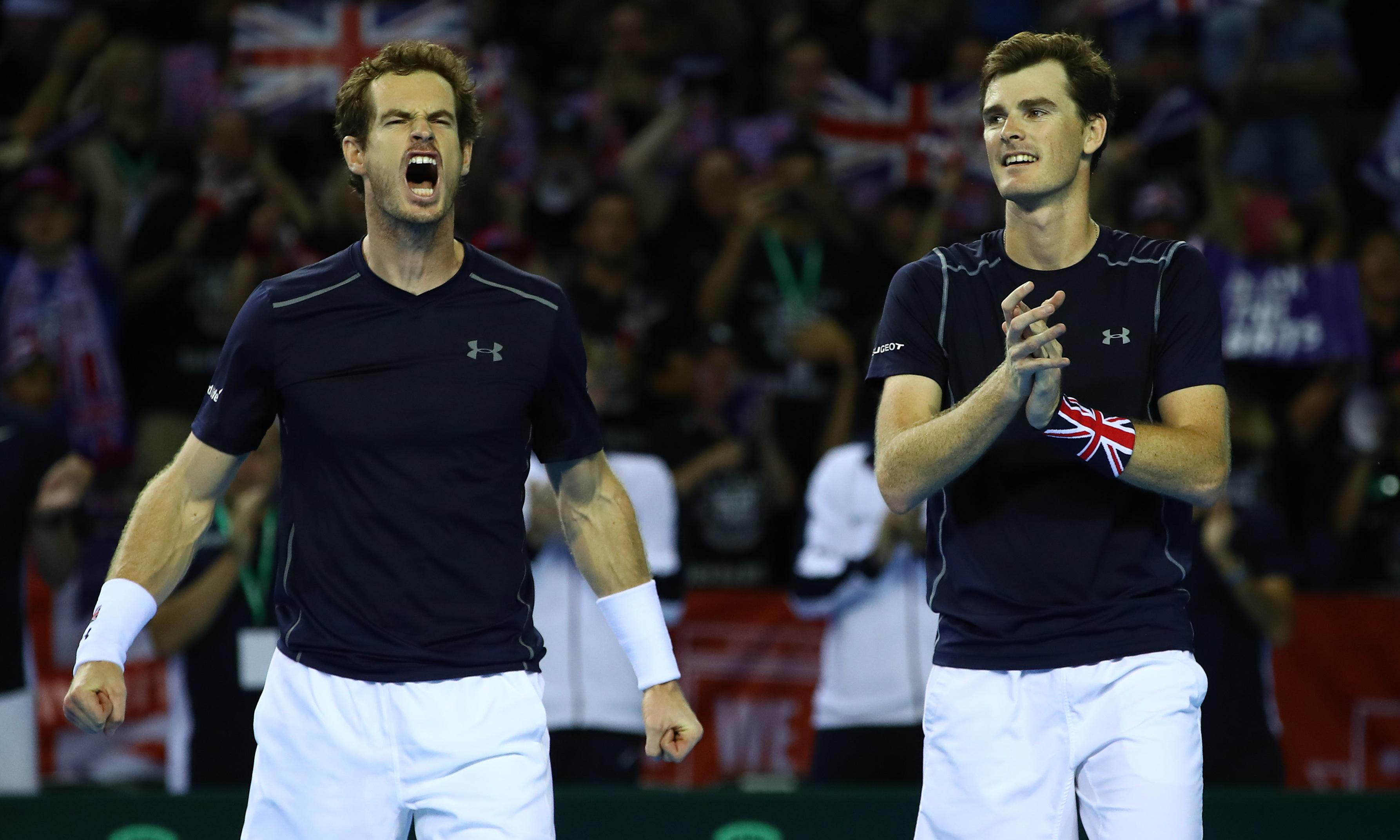 Andy Murray and brother Jamie team up for doubles at Washington Citi Open