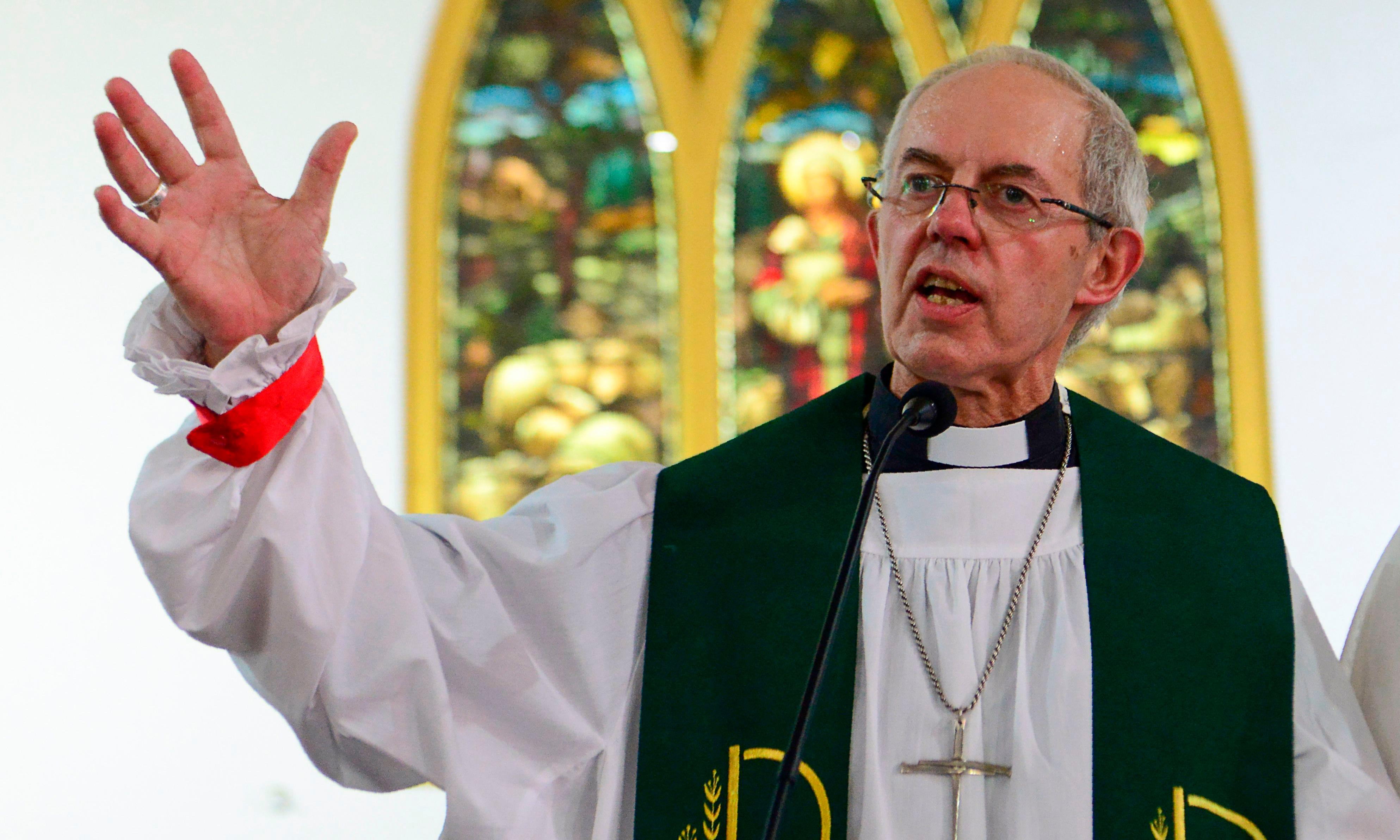 'You are not alone': Justin Welby reveals he sought help for depression