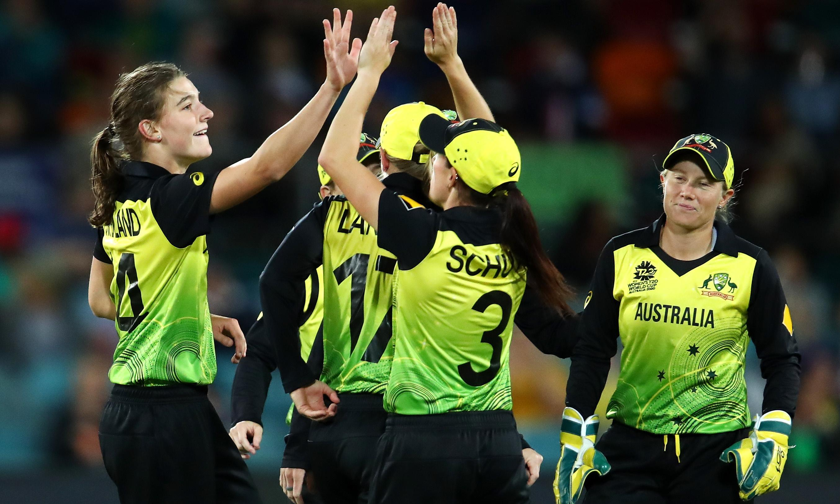 Australia ease to big win over Bangladesh at Women's T20 World Cup