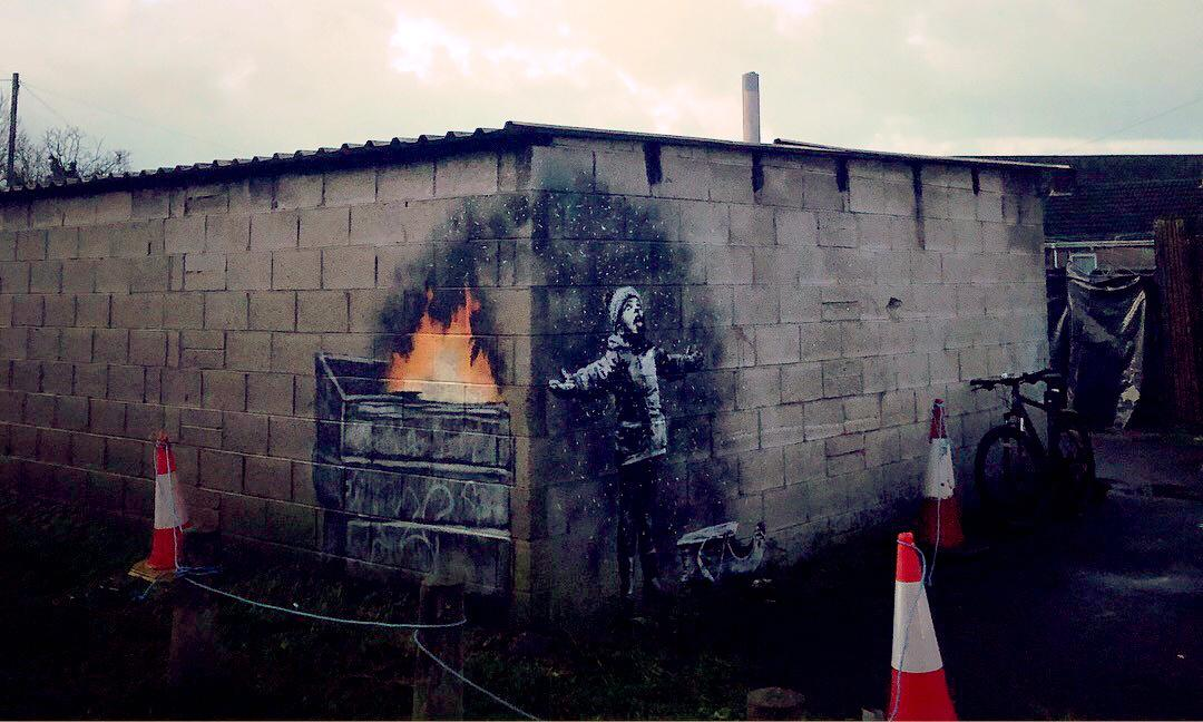 Port Talbot Banksy mural move to local museum begins